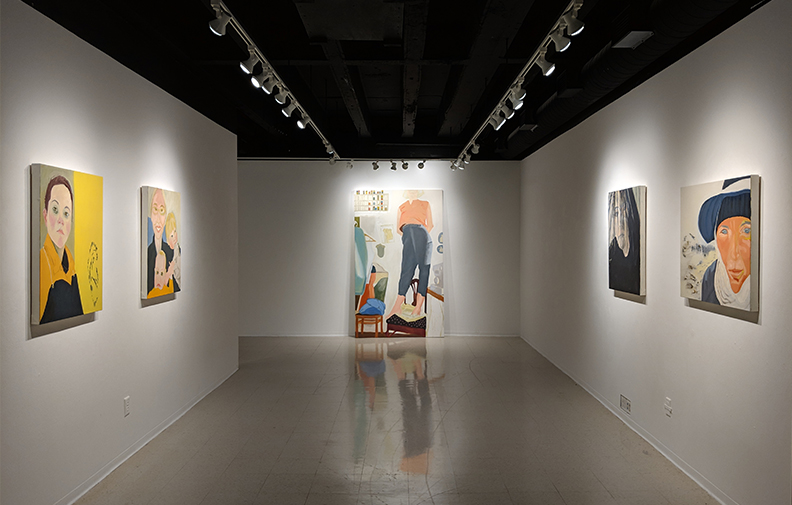 The New Brag Paintings solo exhibition at Hammes Gallery, Saint Mary's College, Notre Dame, Indiana, April 26 - June 1, 2019