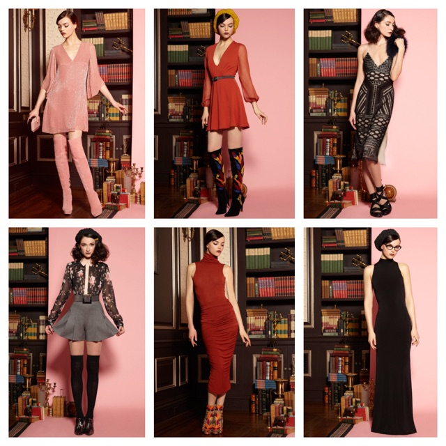 Alice and Olivia Prefall 2016