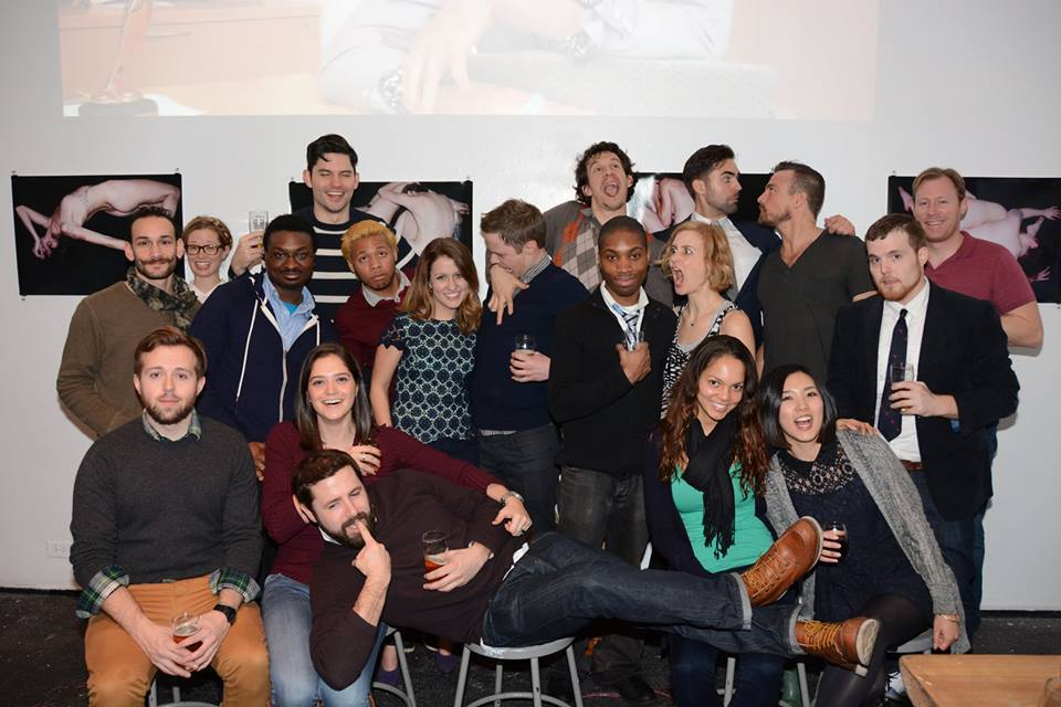Cast and crew of NYPC