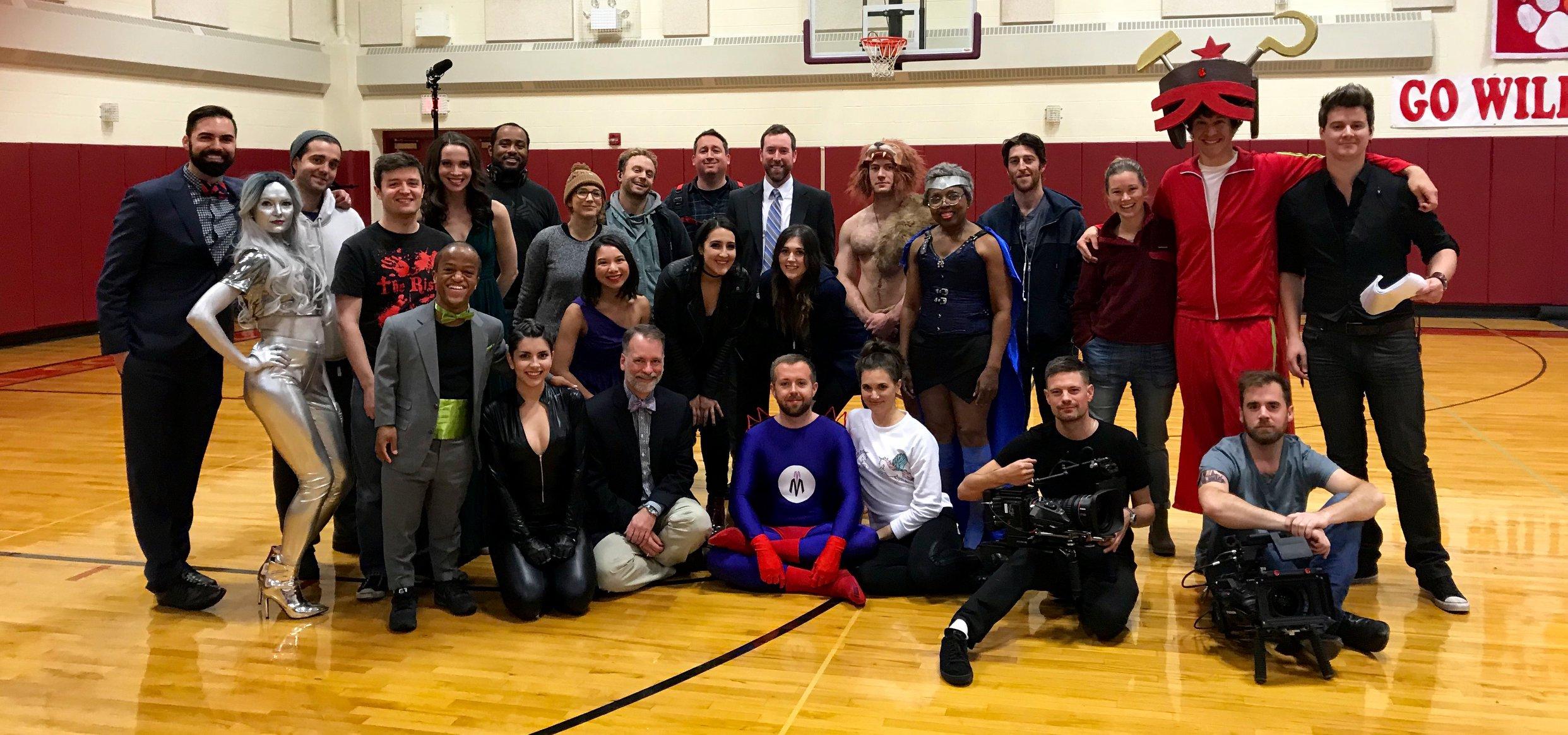 Zero Issue cast and crew