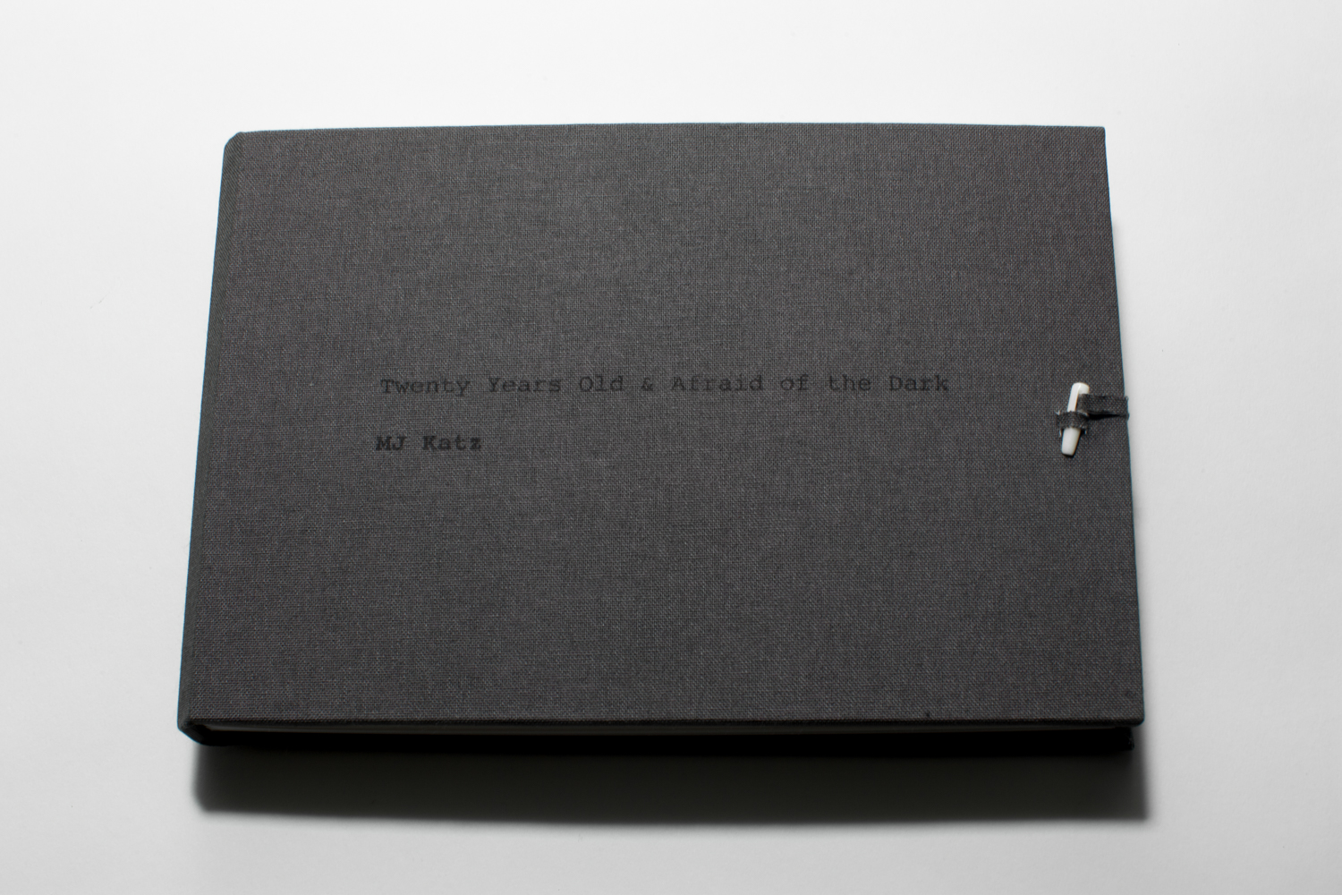 This book was handmade and contains silver gelatin prints of the images above
