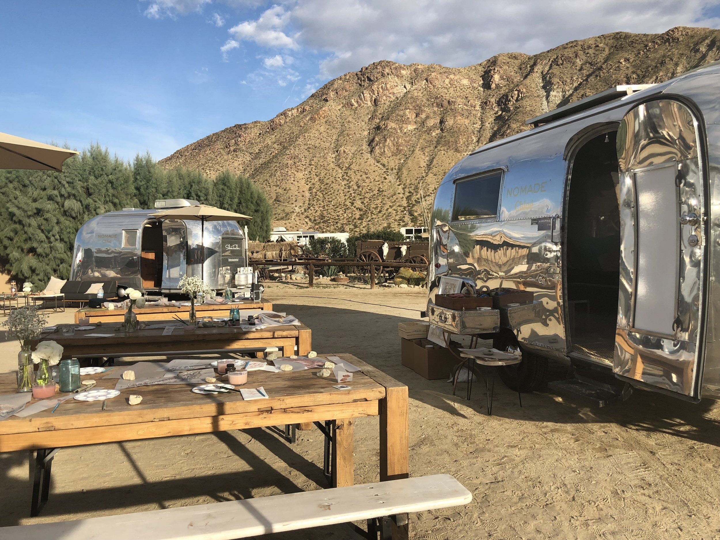 Silver Trailer's Vintage Airstream Caravel and Airstream Globetrotter