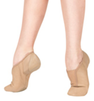 Nude colored jazz shoe