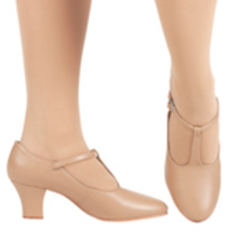 Nude-colored character shoe