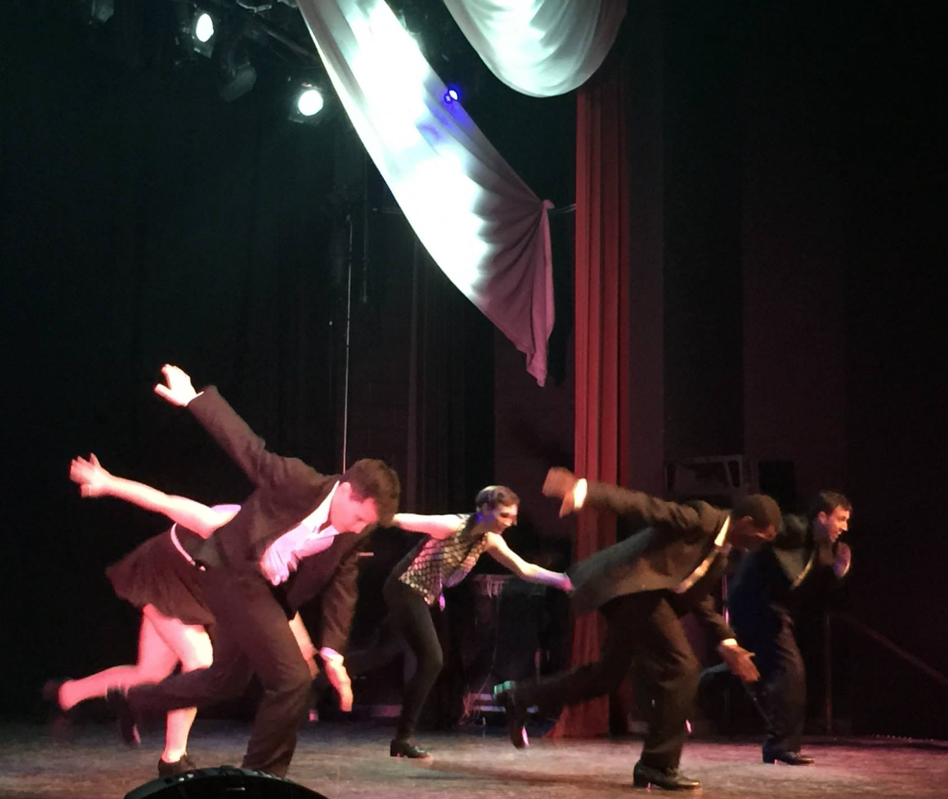 Dancers from the Chicago Human Rhythm Project perform