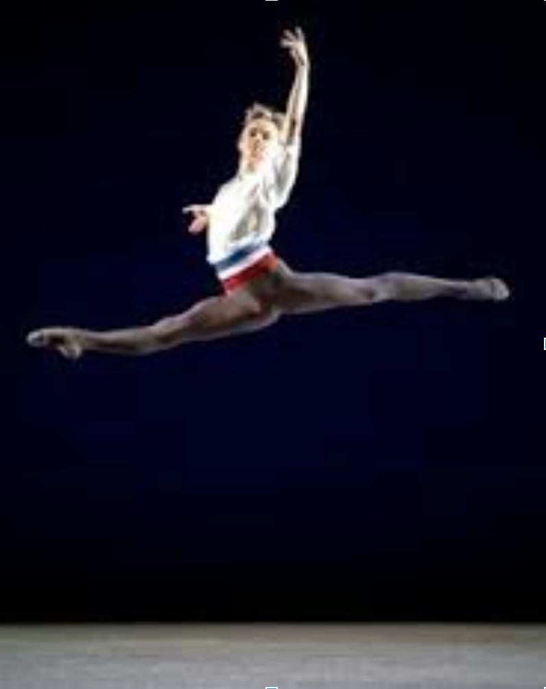Famous male dancer Mikhail Baryshnikov