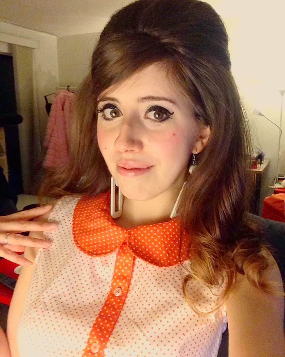HI! I'm Nicole A Go Go! A sixties music and fashion nerd. I design mostly 60's inspired clothing available through my Etsy shop.