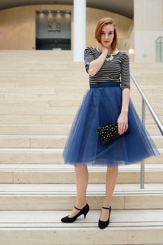 Navy Blue Tulle Skirt-2016.jpg