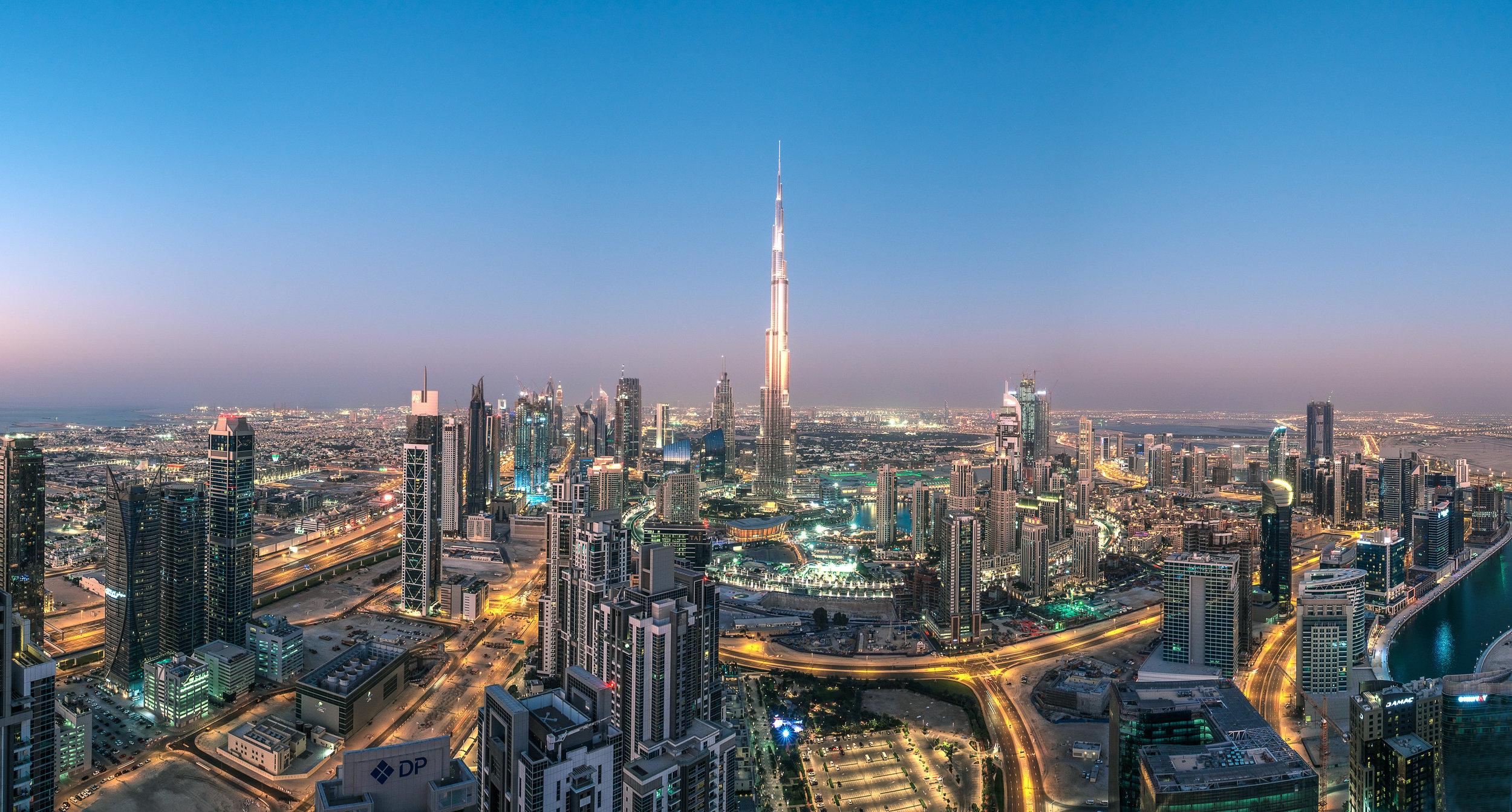 The Centre of Now, Dubai