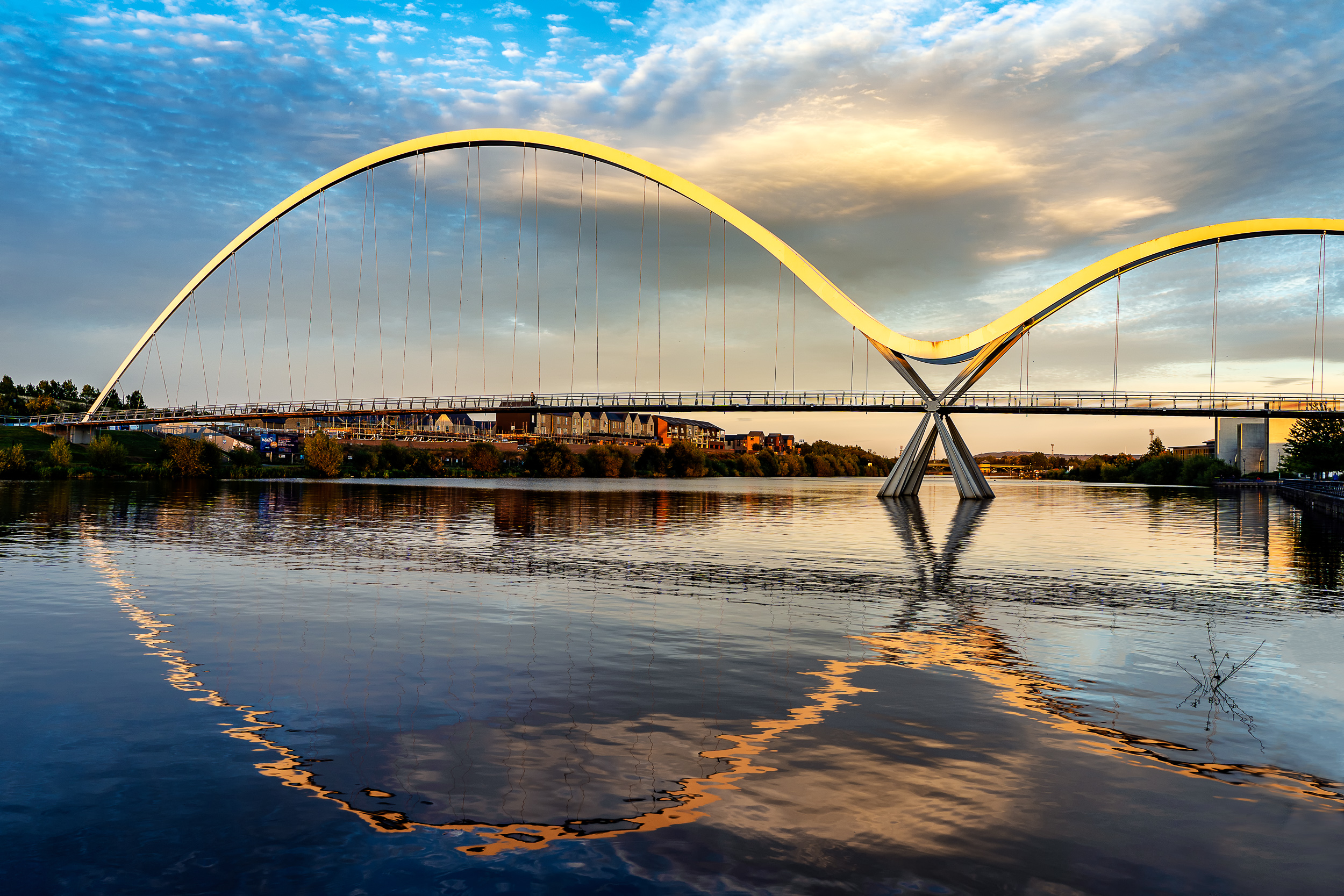 Infinity Bridge, Stockton, England