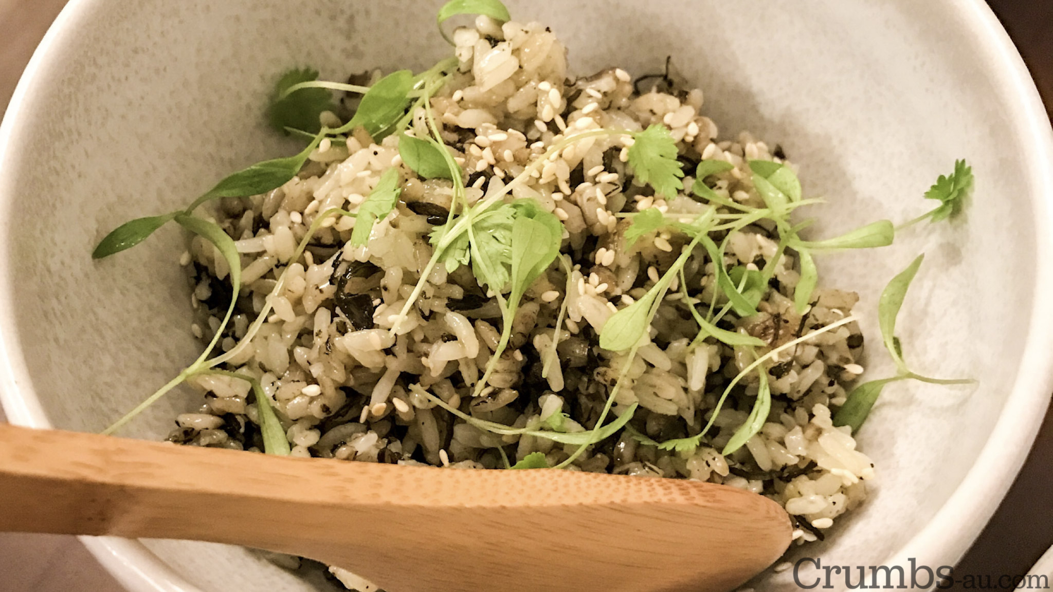 Olive Rice, $6