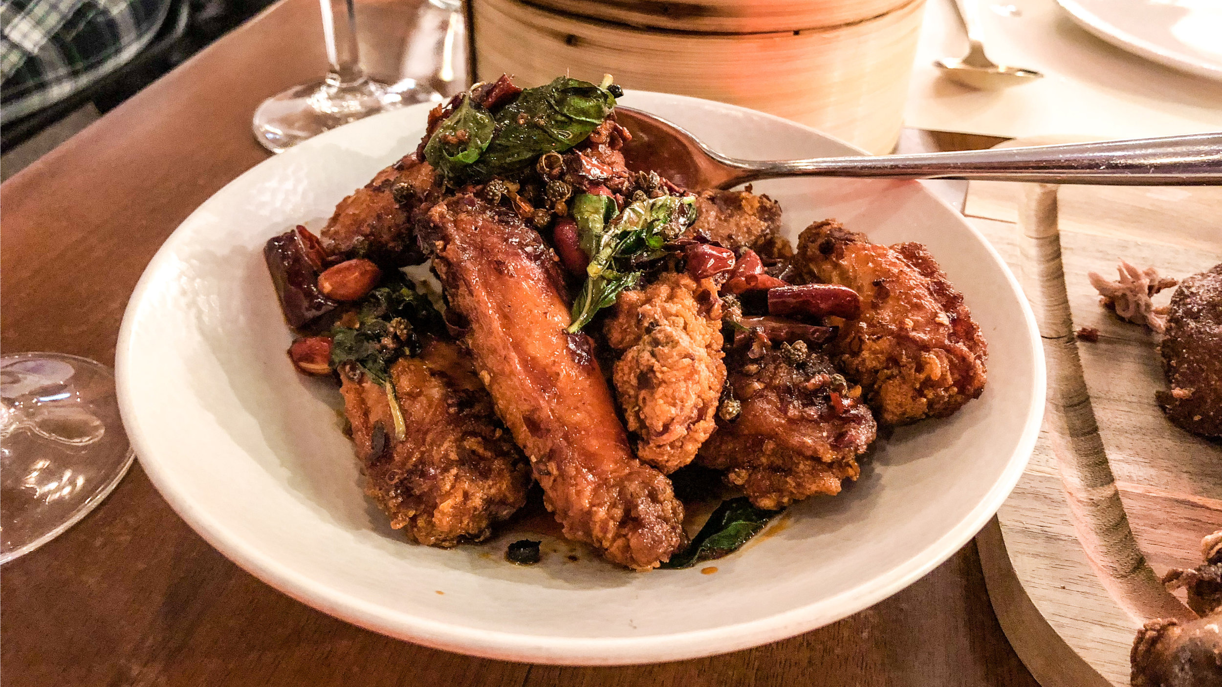 Hot and Numbing Sichuan Chicken Wings