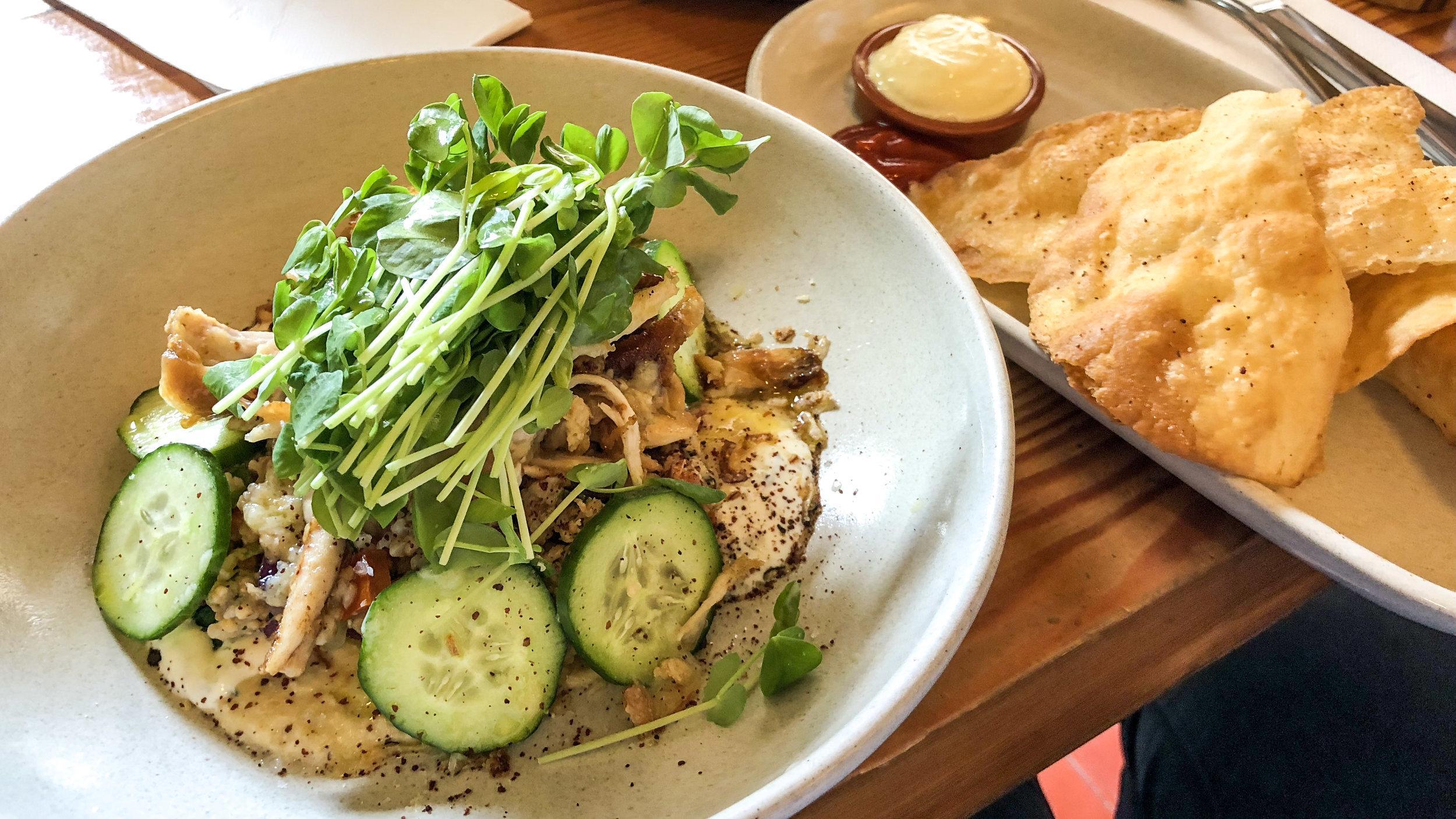 josephhyde_joseph_hyde_potts_point_sydney_darlinghurst_kingscross_cbd_restaurant_diner_cafe_eatery_brunch_breakfast_lunch_chicken_salad_garlic_roasted_toum_crisps