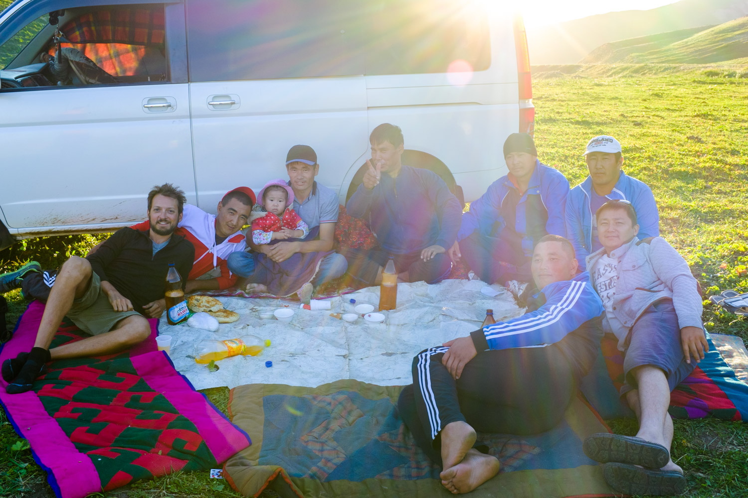 A Kyrgyz birthday party