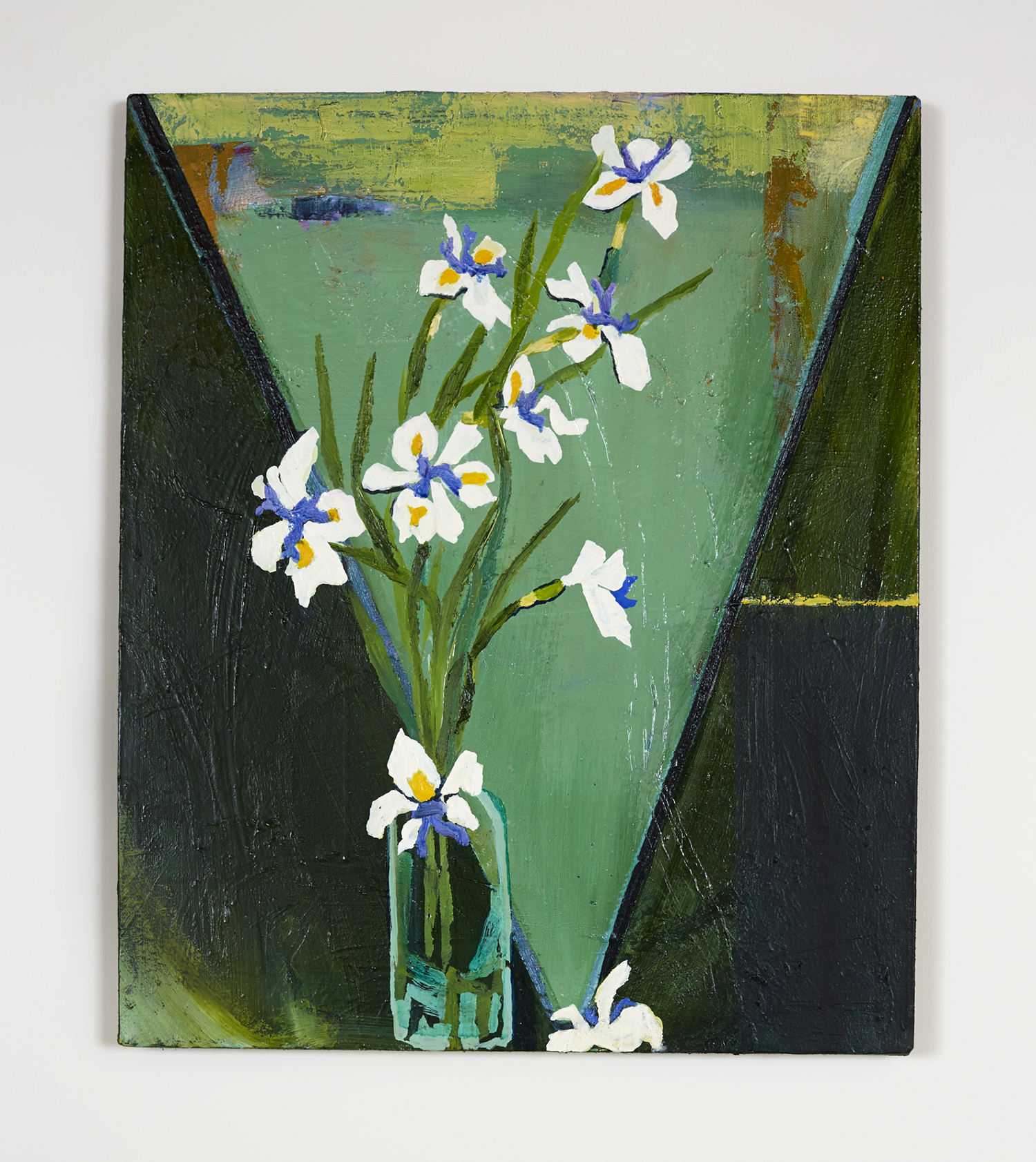 Native Iris  610 x 760mm