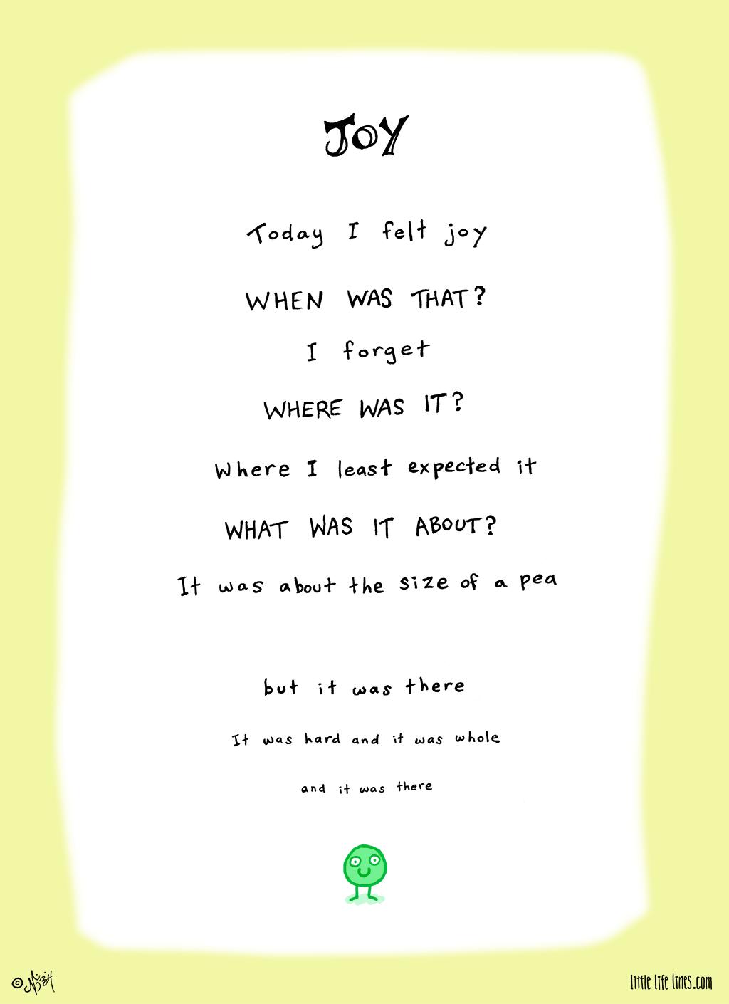 poem about joy