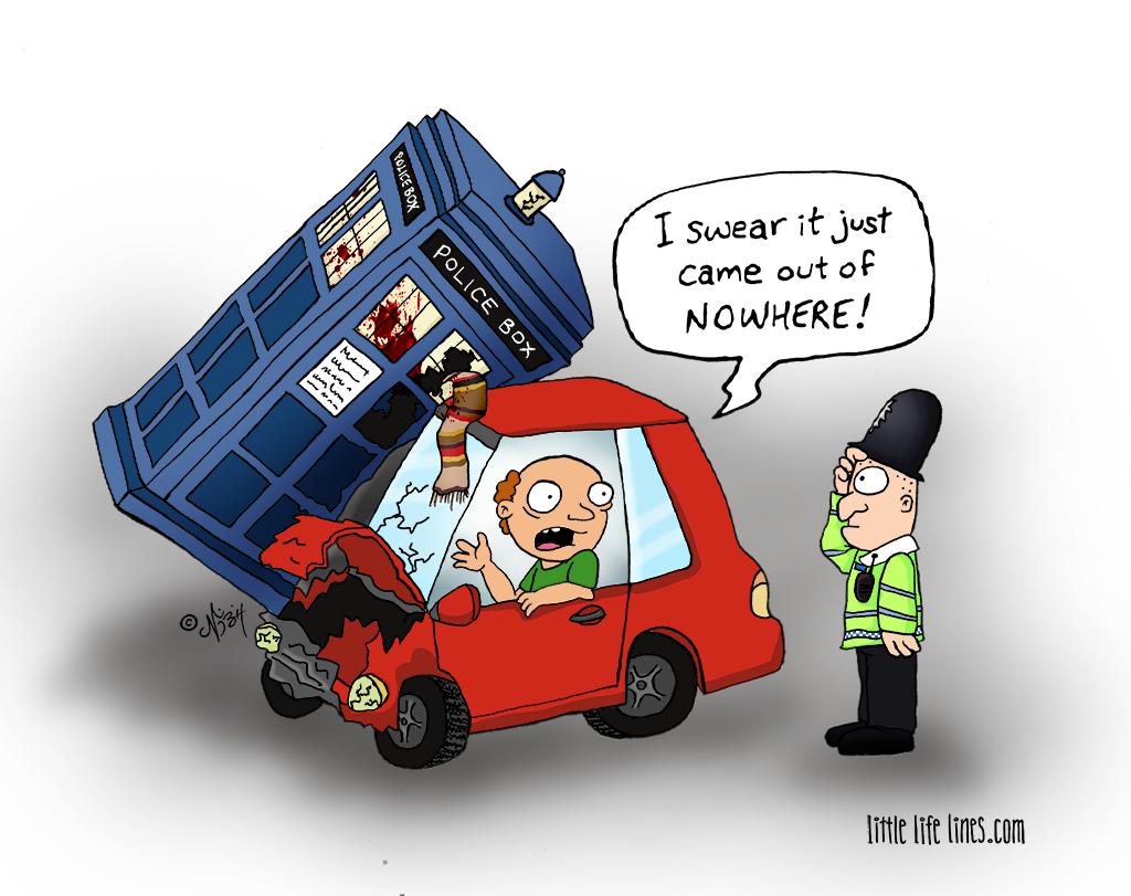 doctor who tardis crash