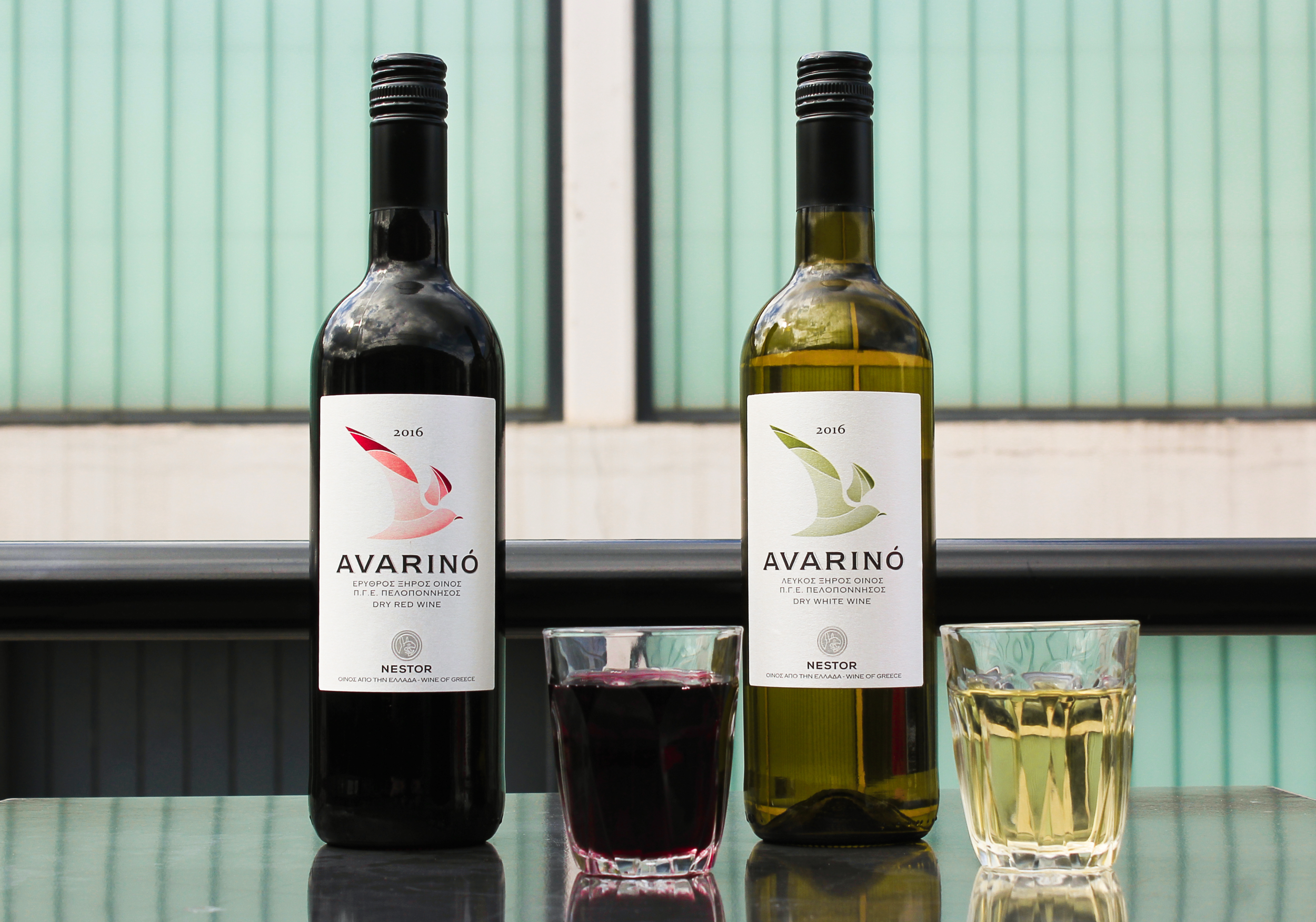 Our Nemean wine taken directly from Peloponnese in Southern Greece.The grapes are cultivated in the PDO Mantinia region and they're characterised by mildly fruity flavors and delicate, muscat aromas.