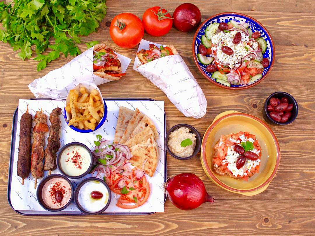 A typical meal in most places in the Mediterranean consists of vegetables, bread, herbs, spices, olive oil, low fat dairy and meats and always, good company!