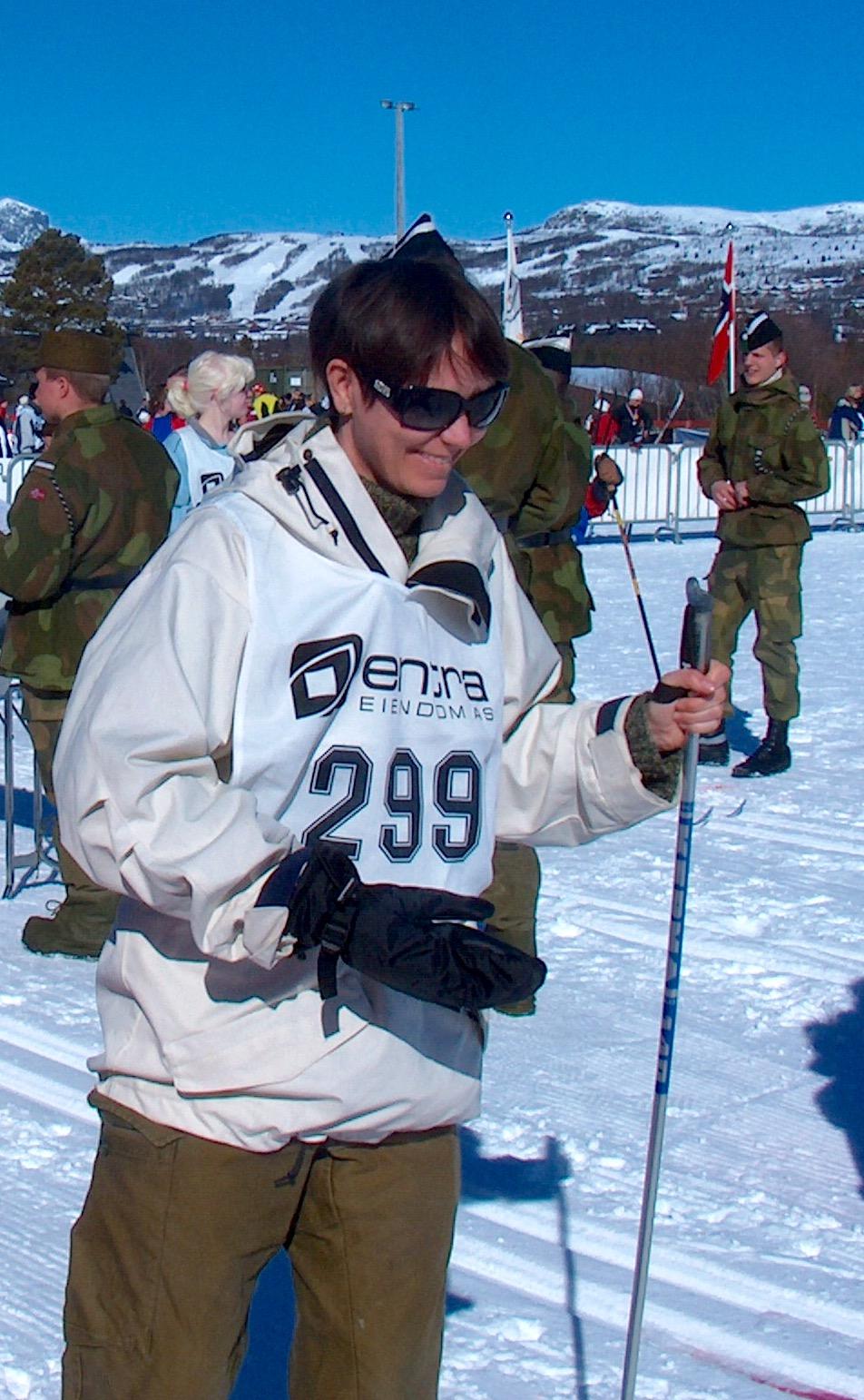 Årets dårligste skiløper i Ridderrennet for ti år siden.