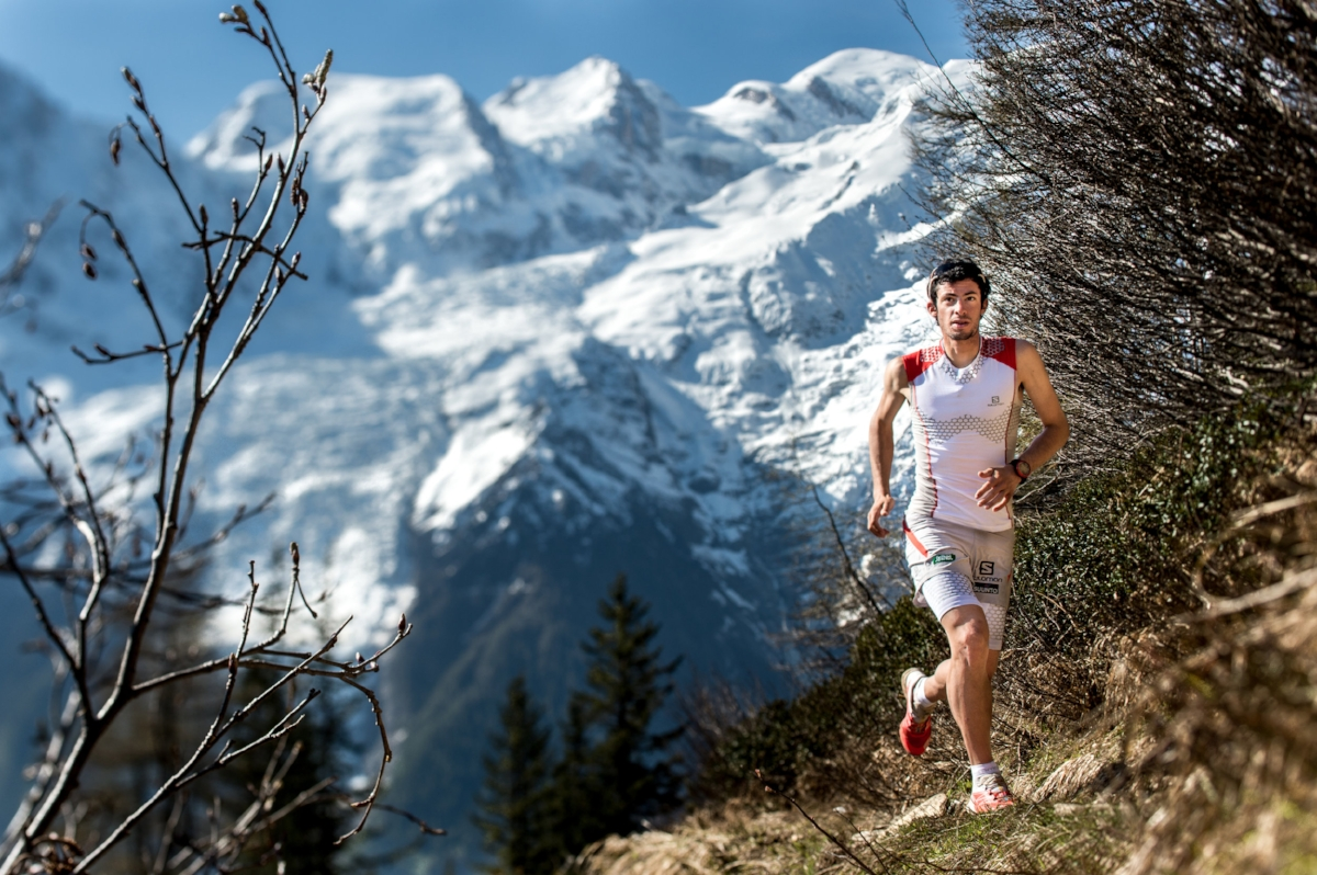 Kilian Jornet. Photo by  www.droz-photo.com
