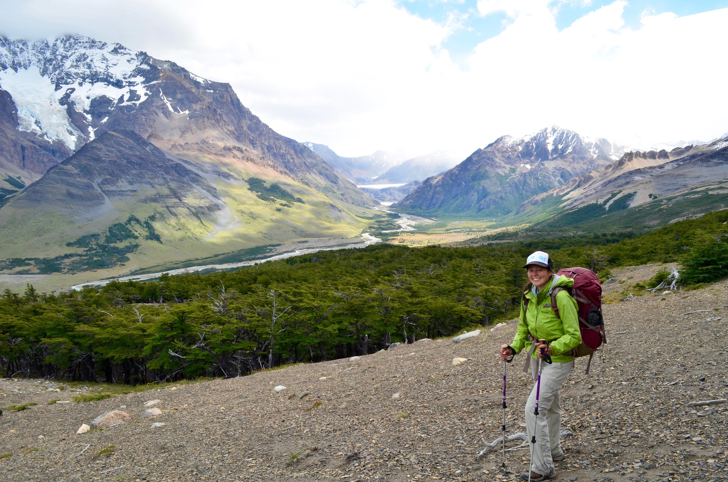 Small, focused steps brought me to this place beyond my dreams, in the wilds of southern Patagonia.