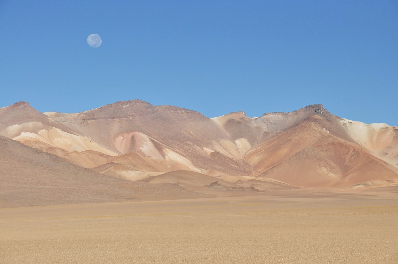Salar De Uyuni Bolivia The Atacama Desert
