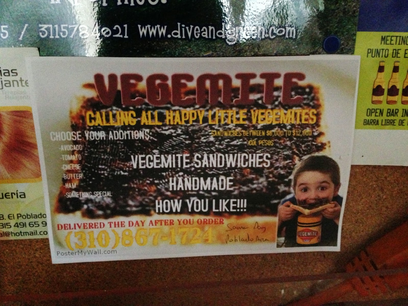 For all you Aussies out there, you can get Vegemite sandwiches delivered to this hostel. Isn't that reason enough to stay?