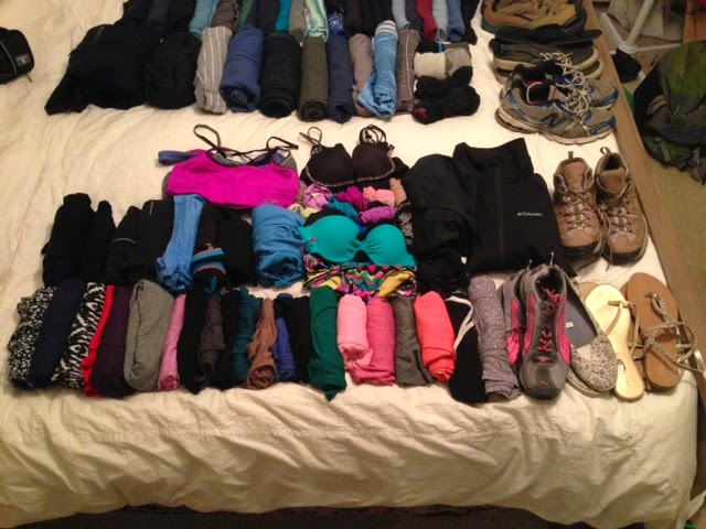 Katie's clothes before...