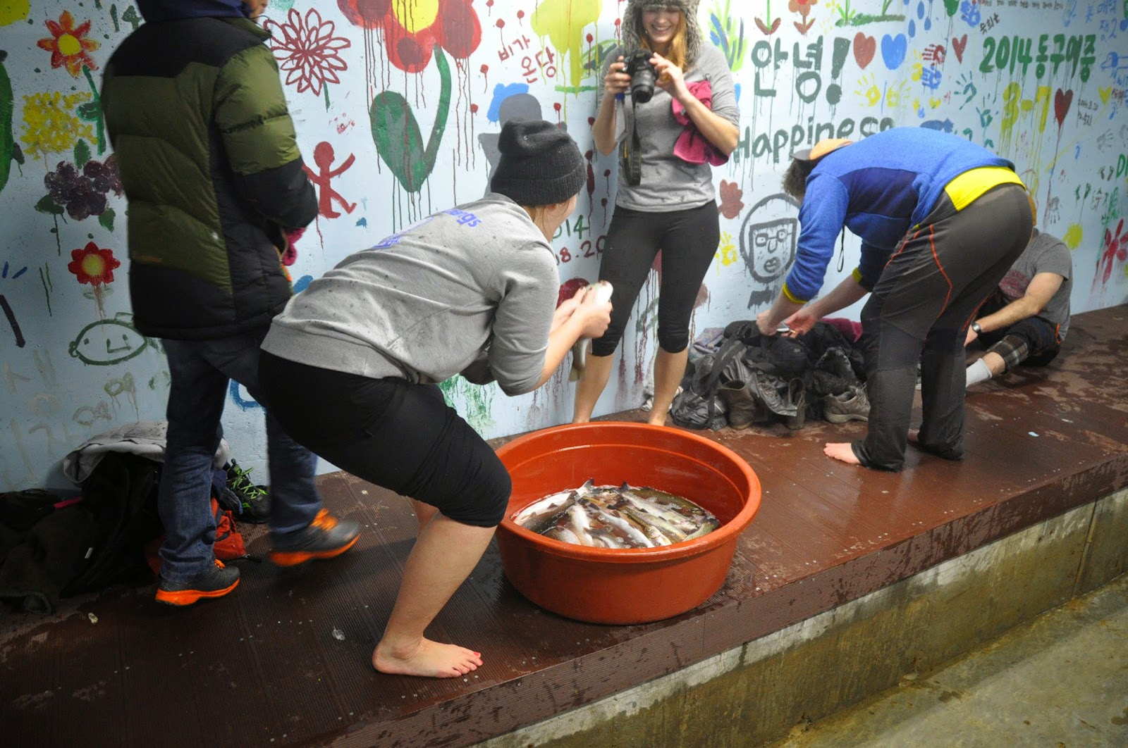 Adventure Korea Caving and Hand Fishing