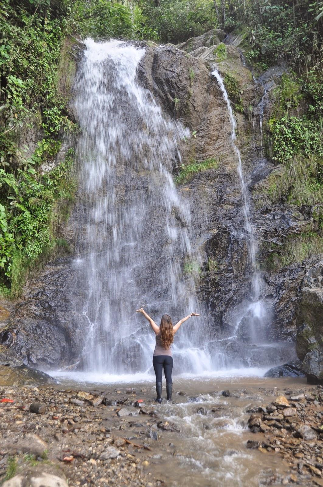 Waterfall on the farm