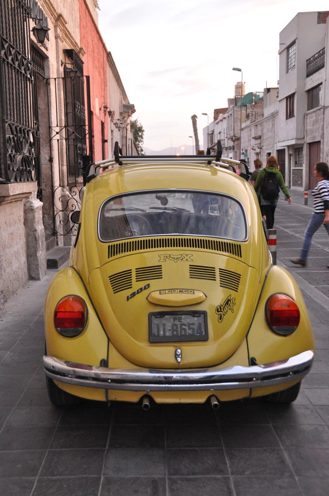 Vintage cars everywhere!