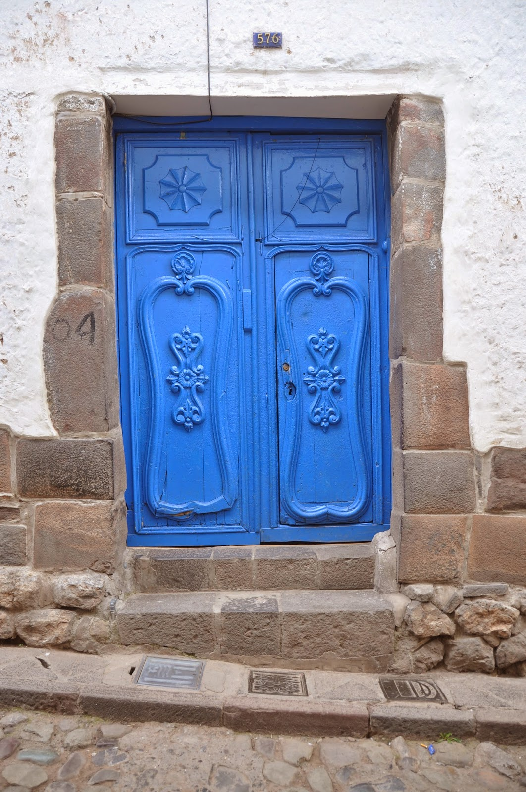 Blue Door Cusco Peru