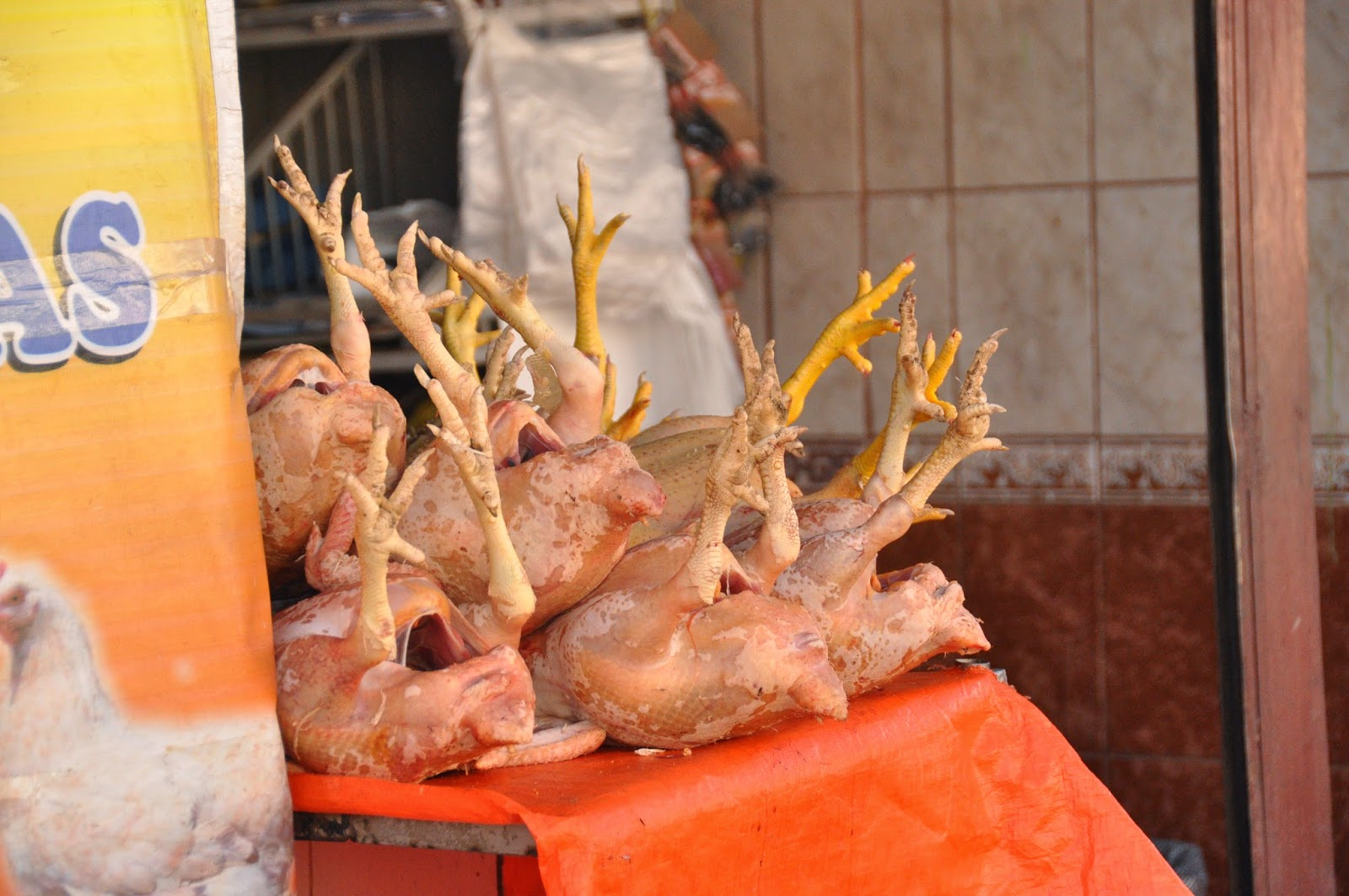 Chicken Feet Cusco Peru