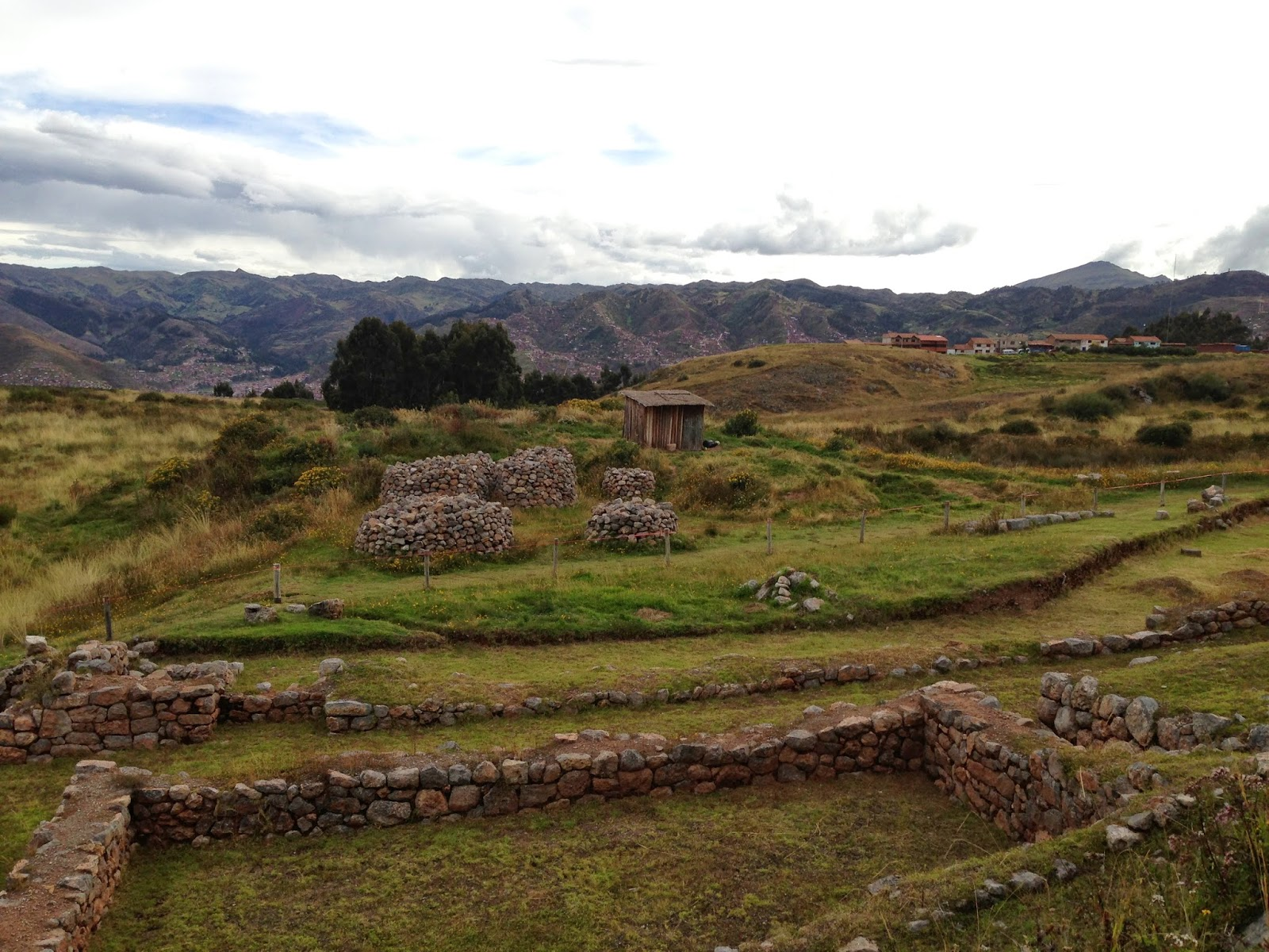 We finally found our Cusco ruins!