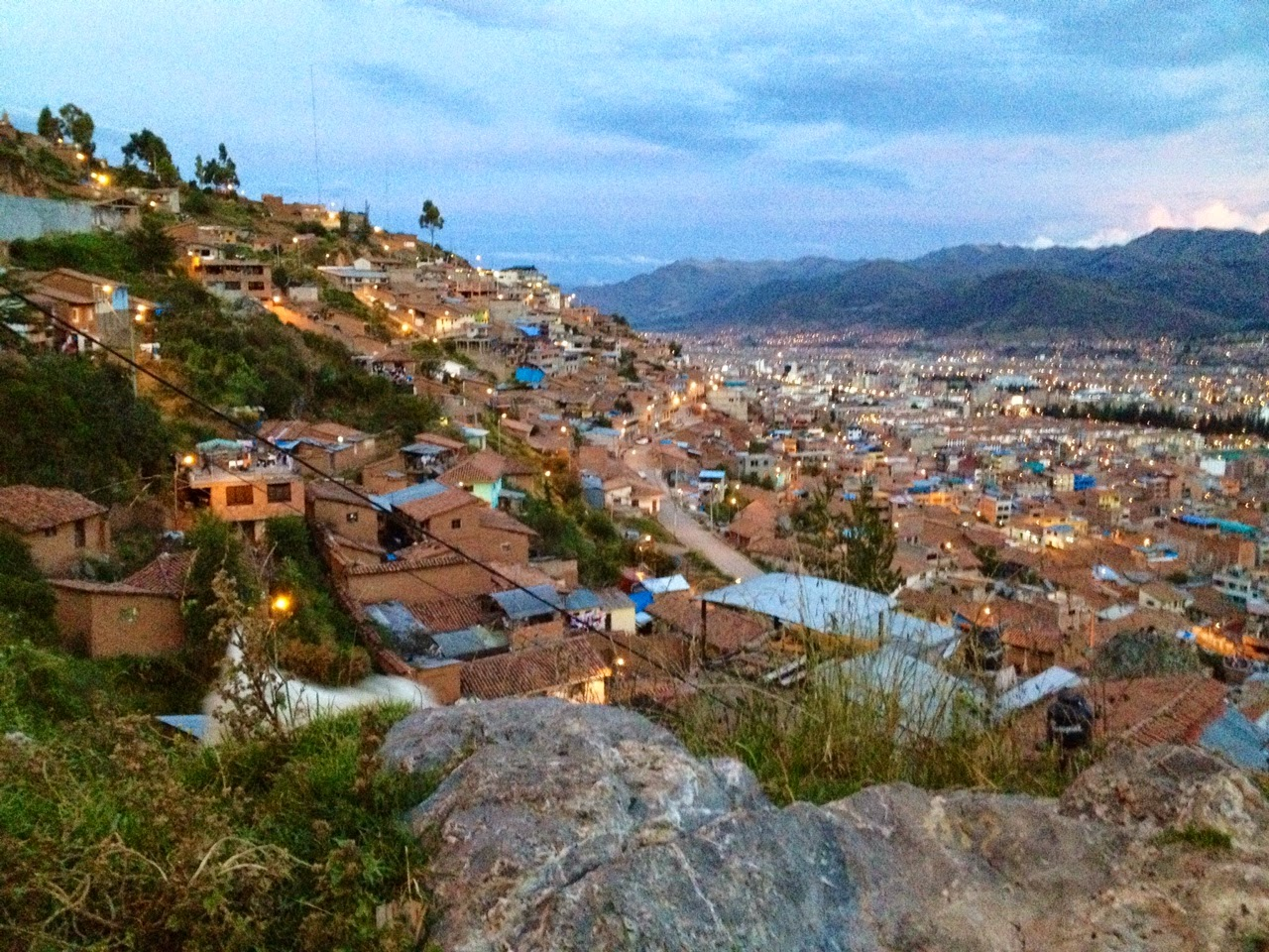 Cusco Peru Viewpoint