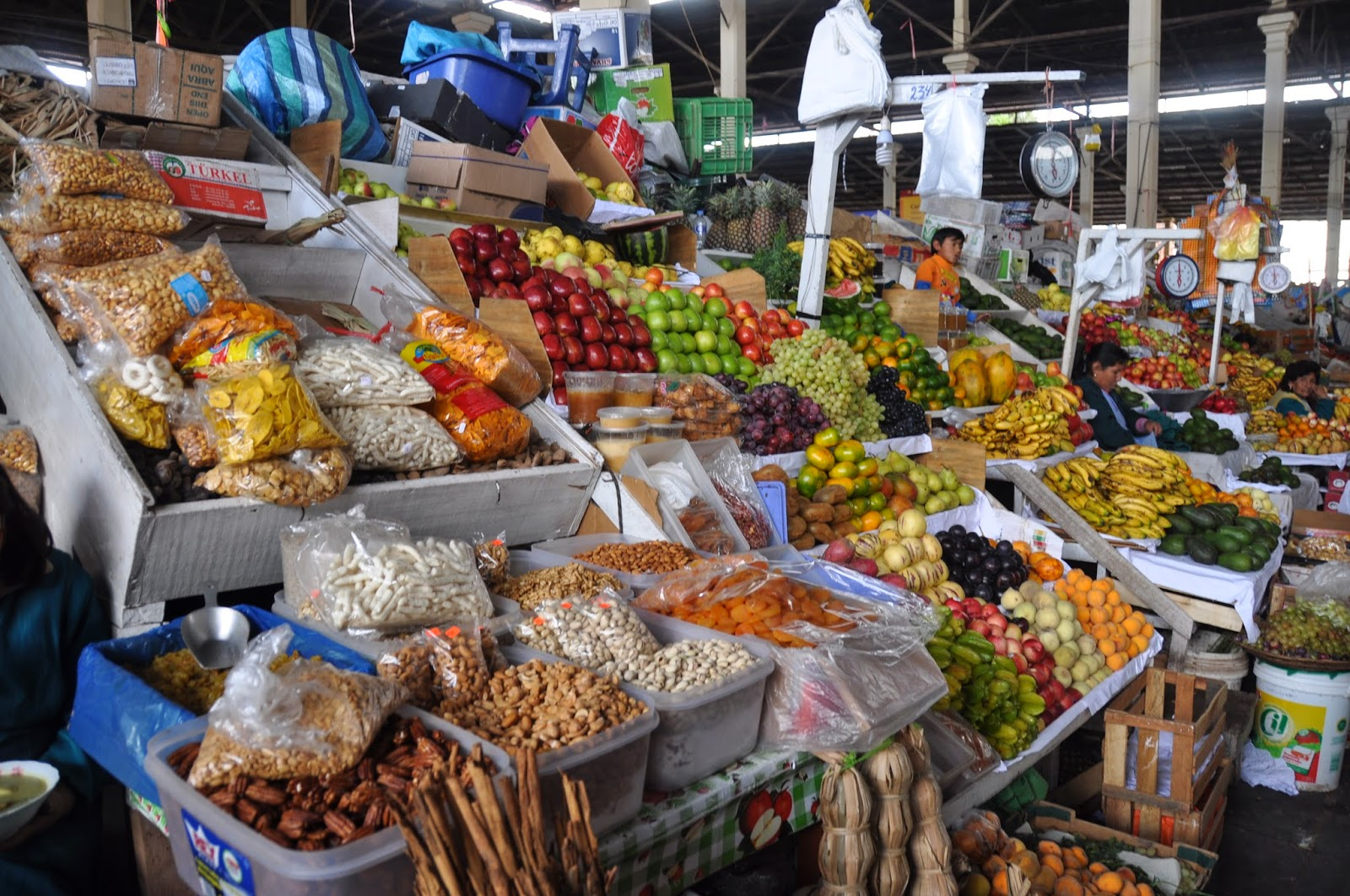 Fruit San Pedro Market Cusco Peru
