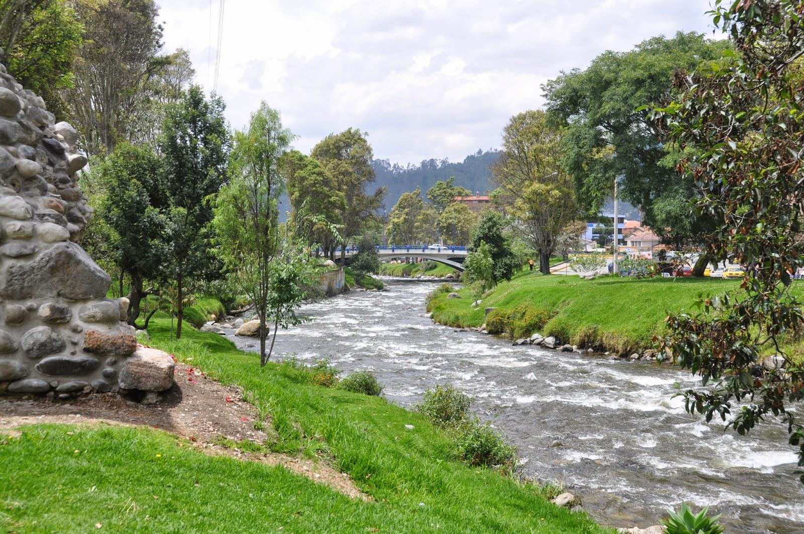 Beautiful river walk