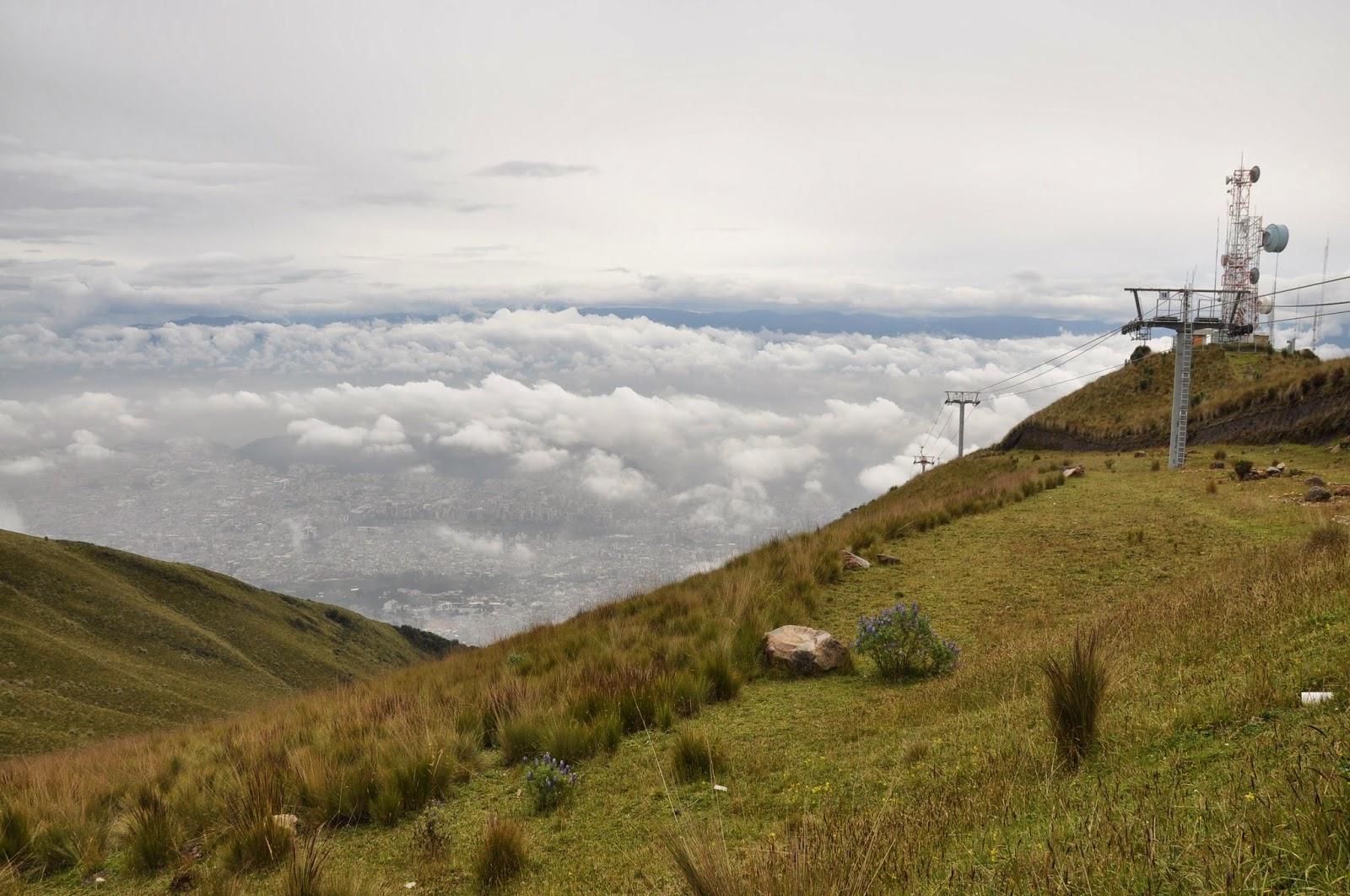 Teleferico Cable Car Quito Ecuador