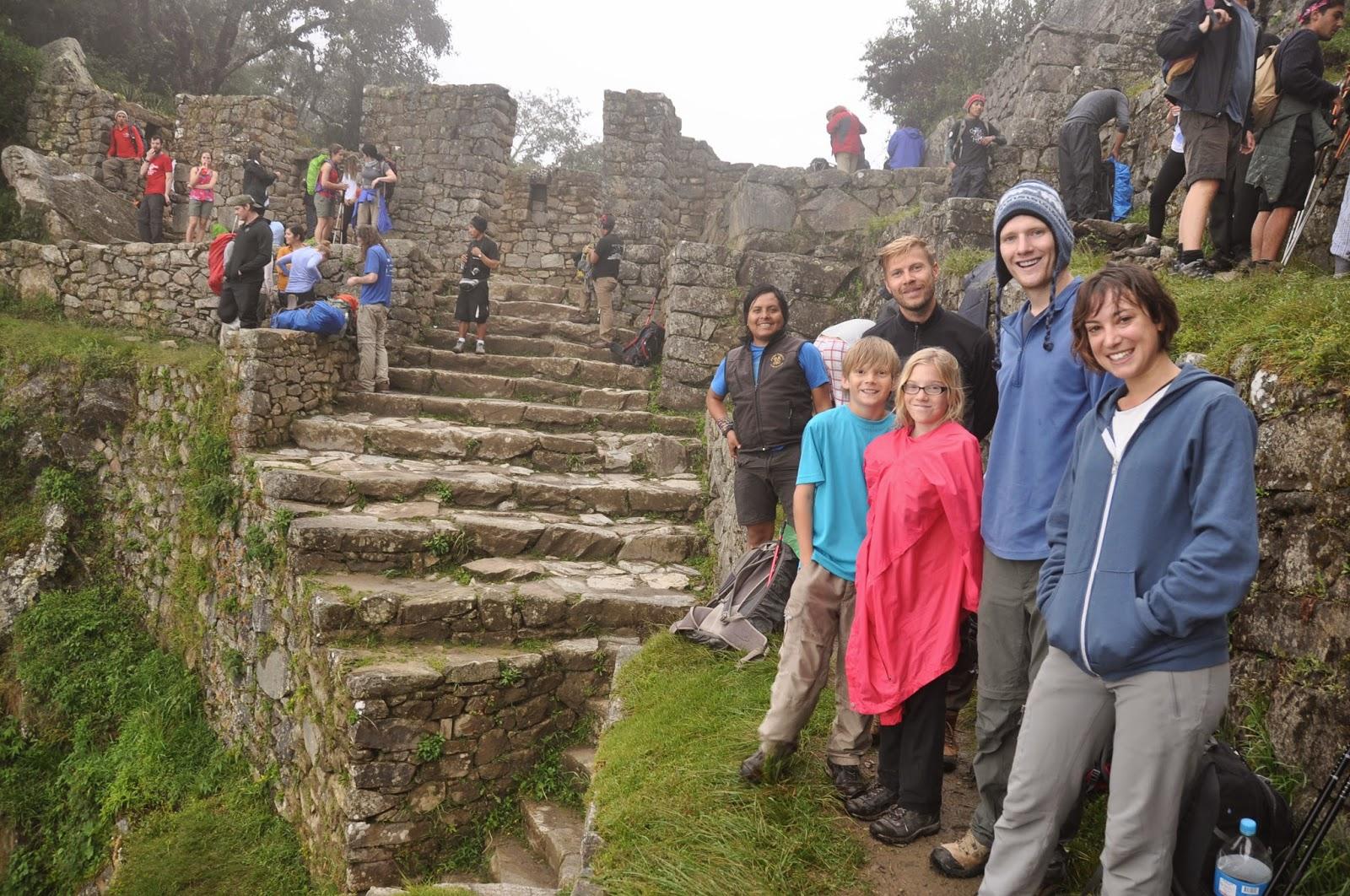 Sun Gate: the entrance to Machu Picchu