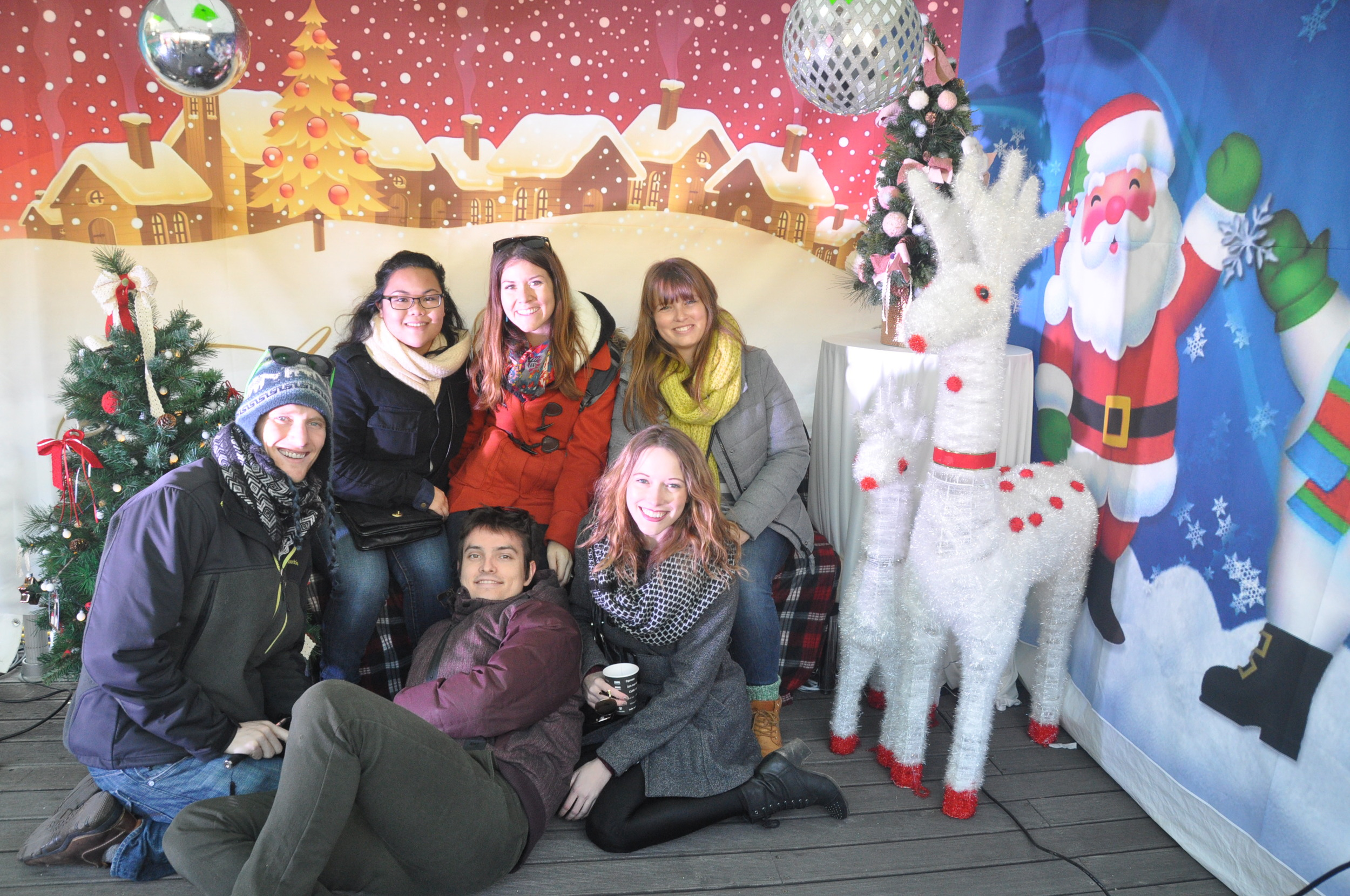 Seoul Christmas Market Friends