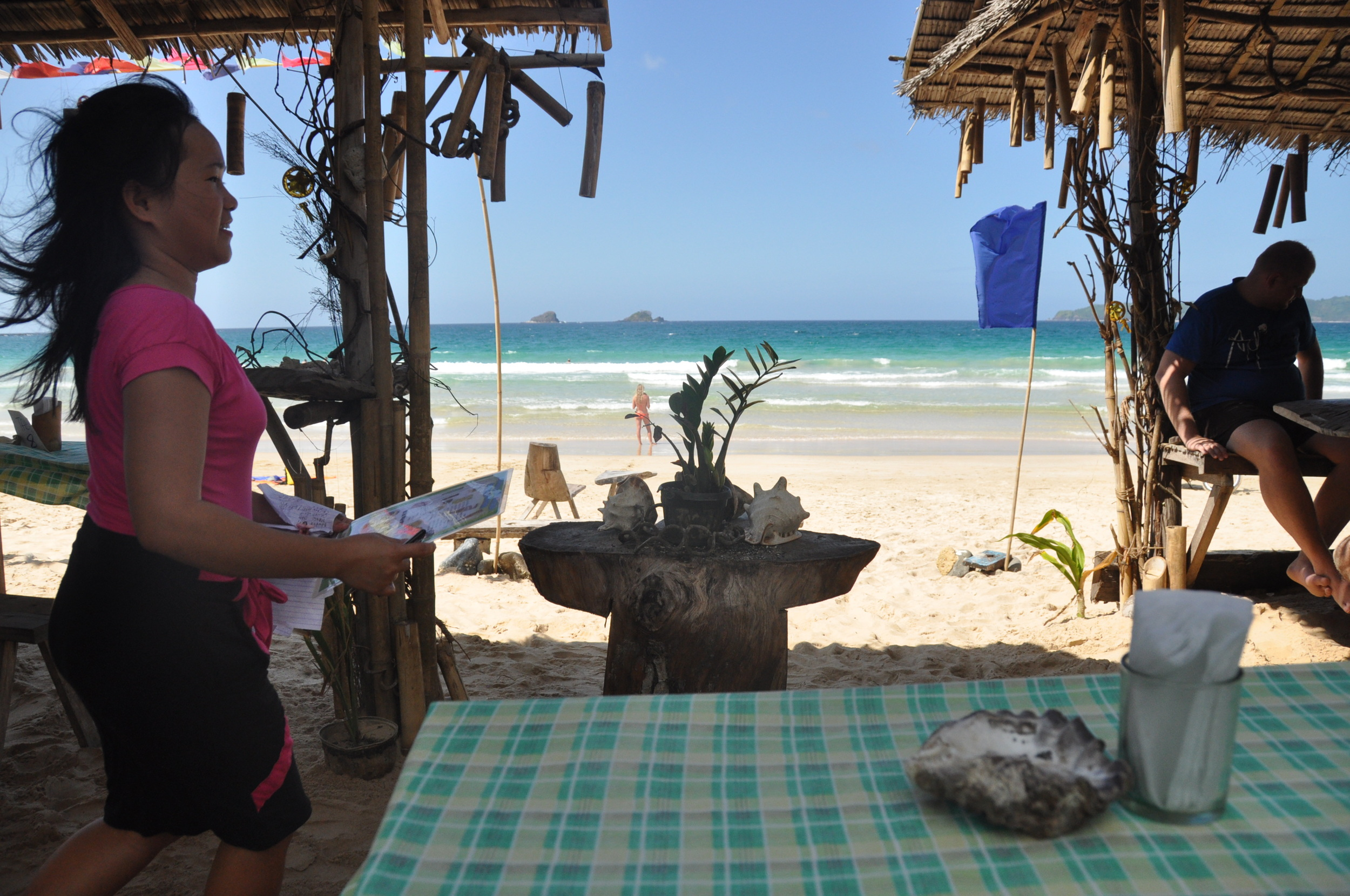 Philippines Palawan Nacpan Beach