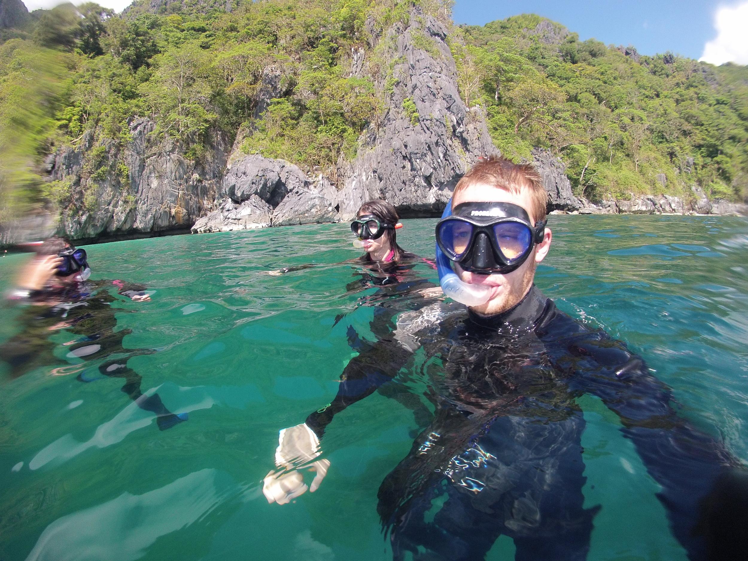Philippines Palawan Freedivers
