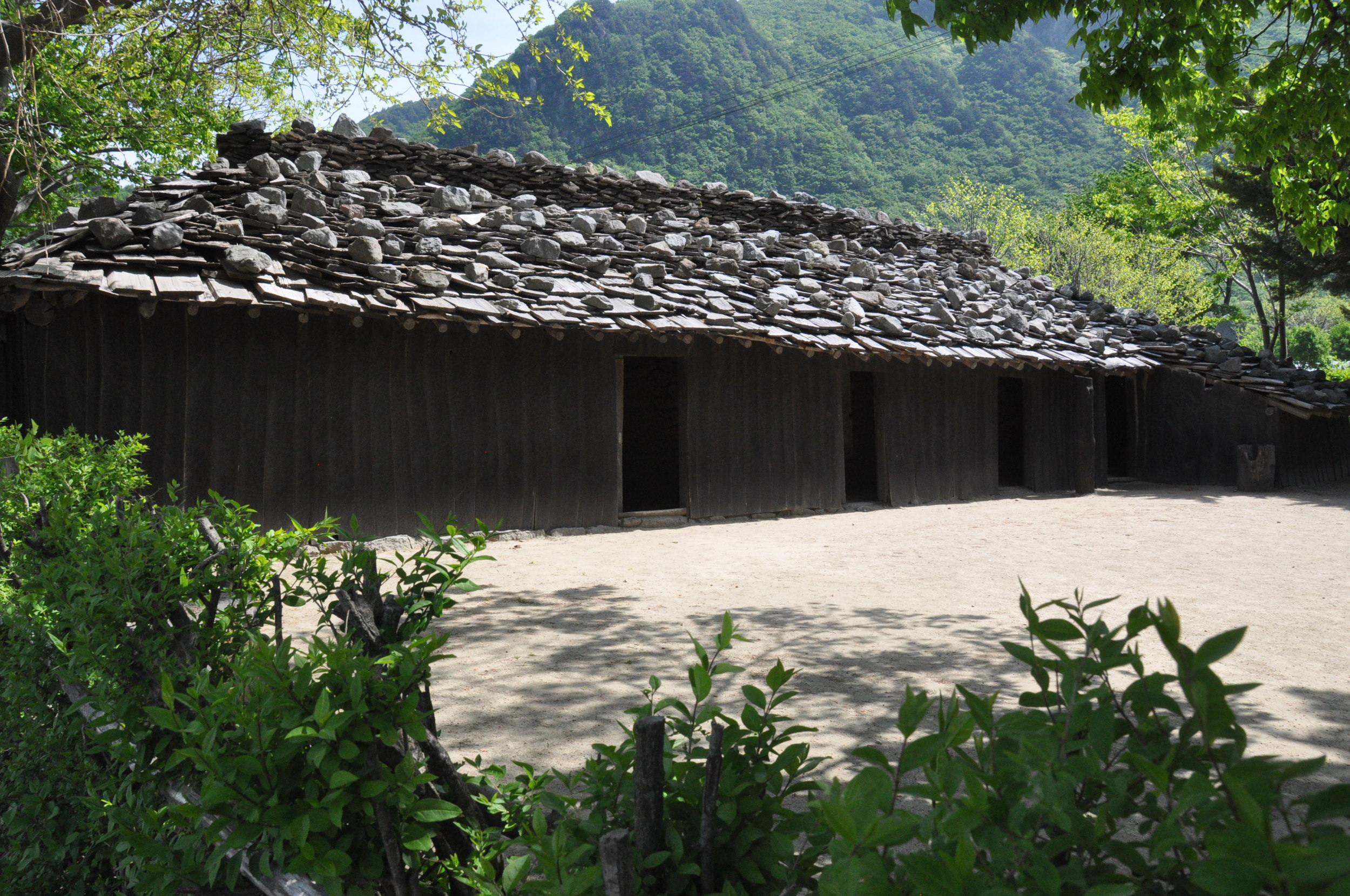 Ulleungdo Island Korea Traditional Wooden House