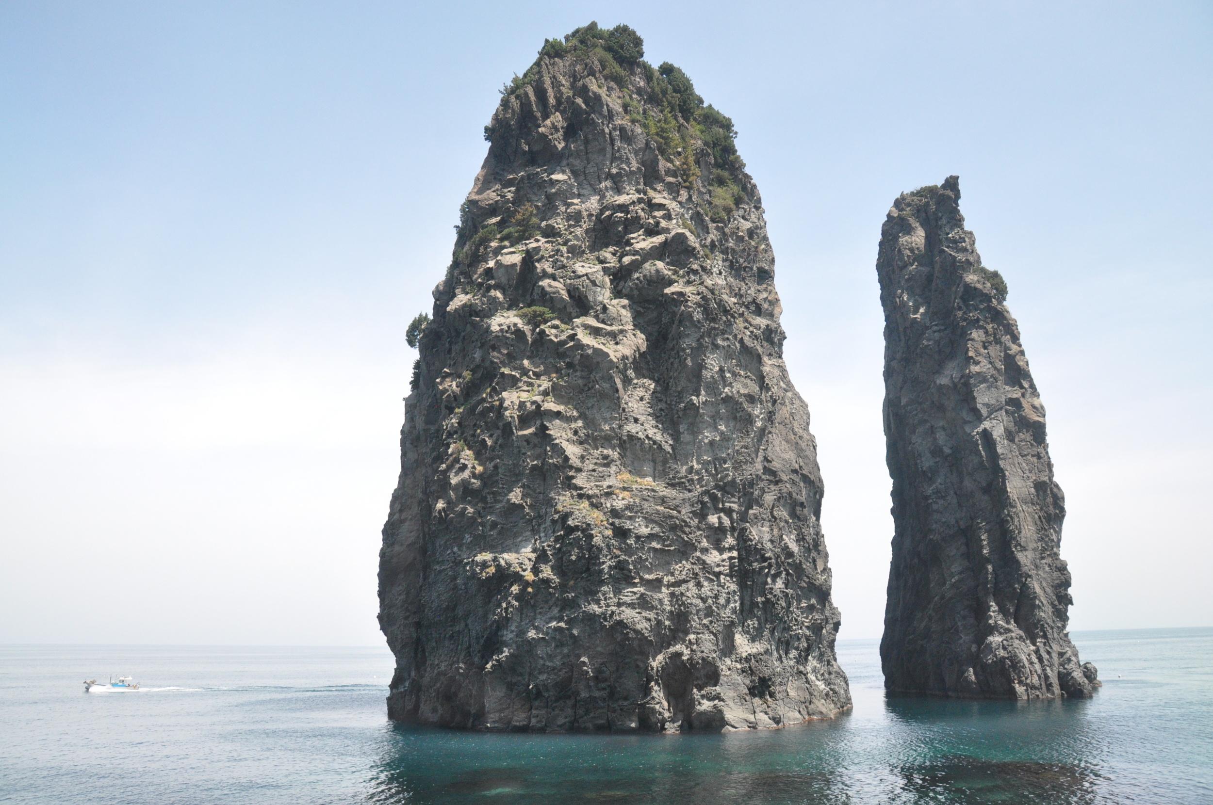 Ulleungdo Island Korea Three Sisters Rock