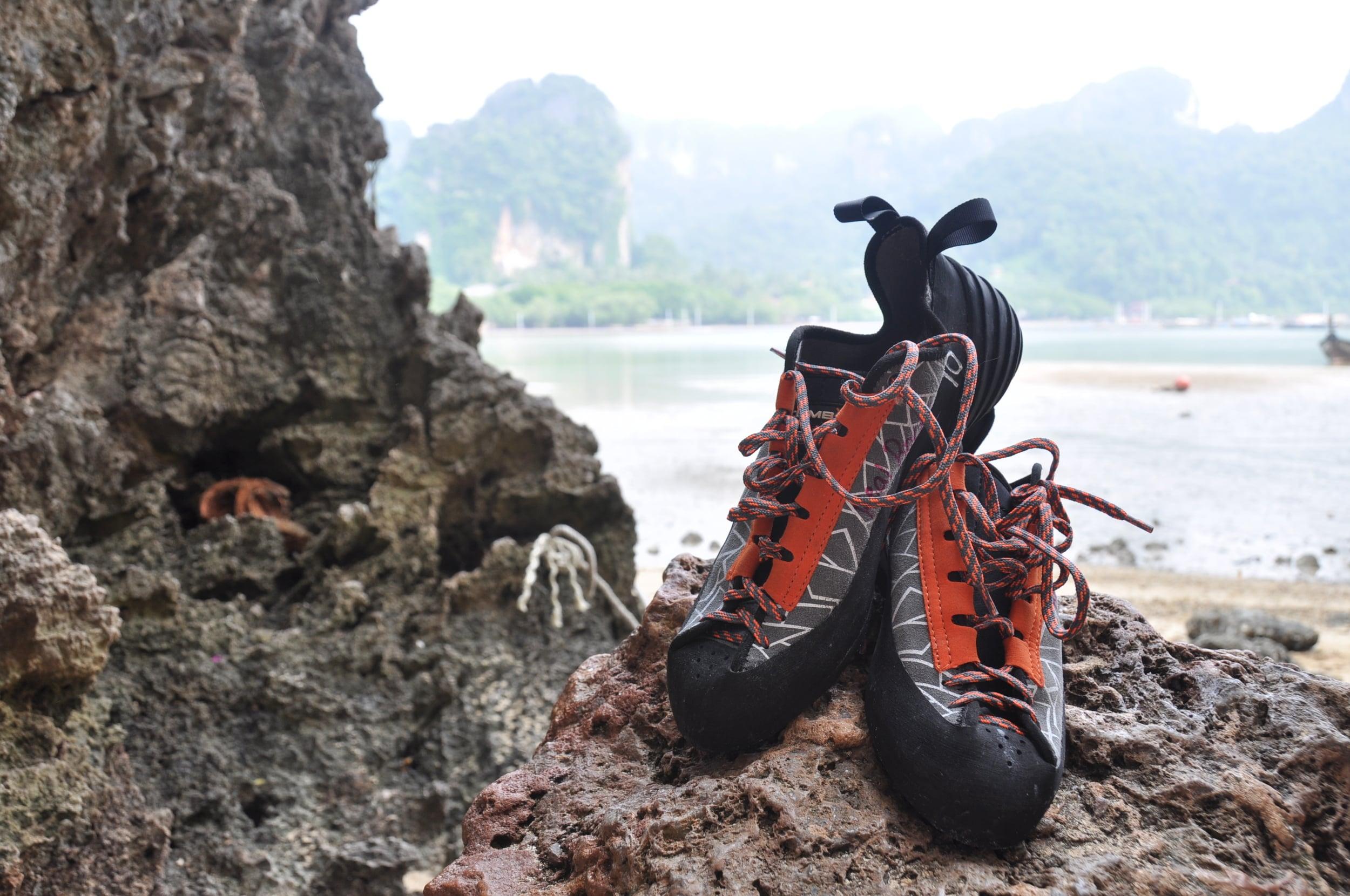 Rock Climbing Railay Beach Krabi Thailand
