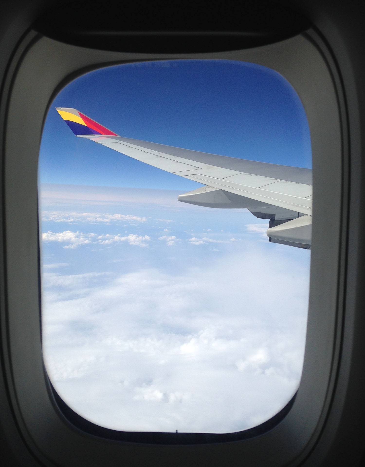 Airplane Wing Travel