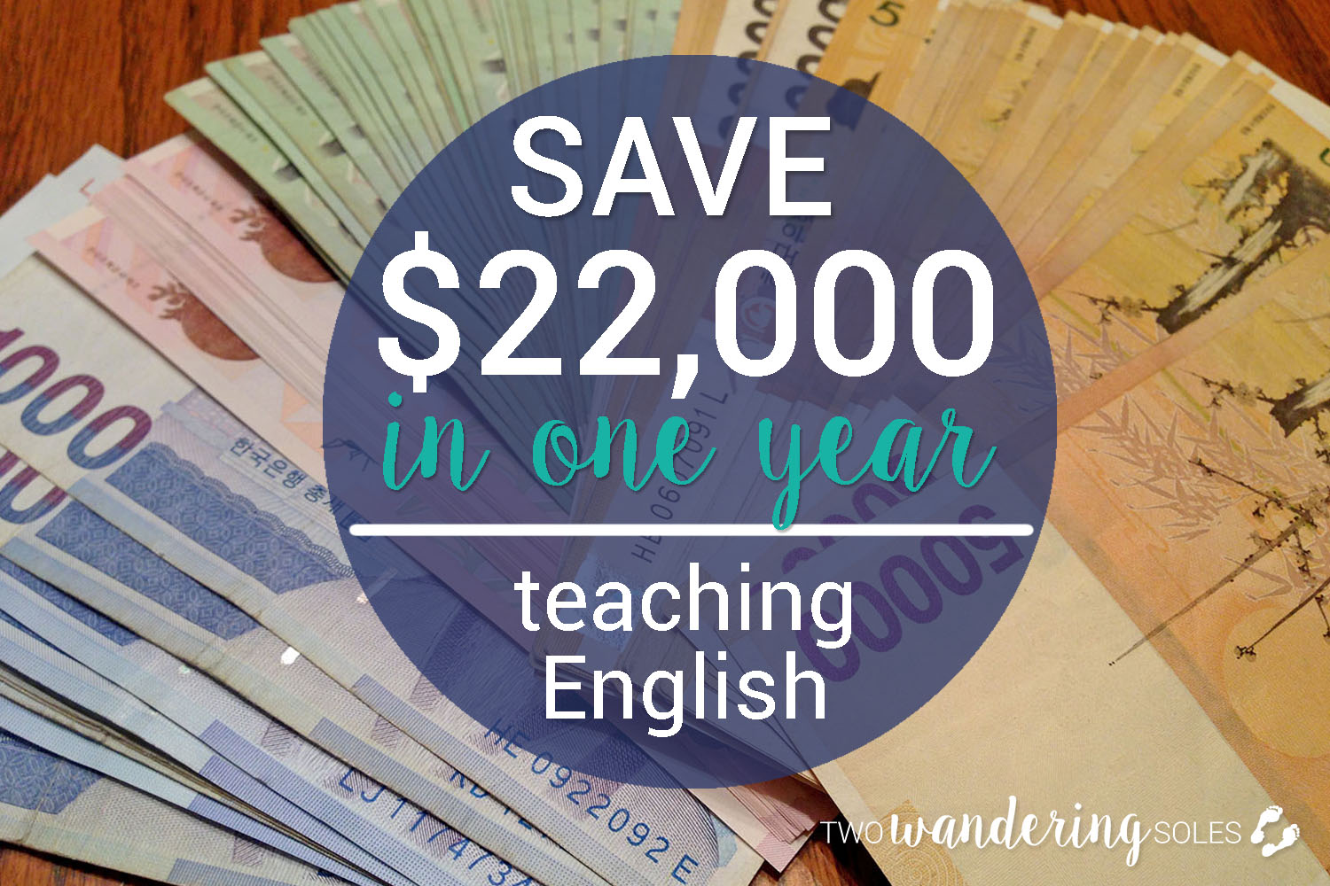 How to Save $22,000 in one year teaching English in South Korea