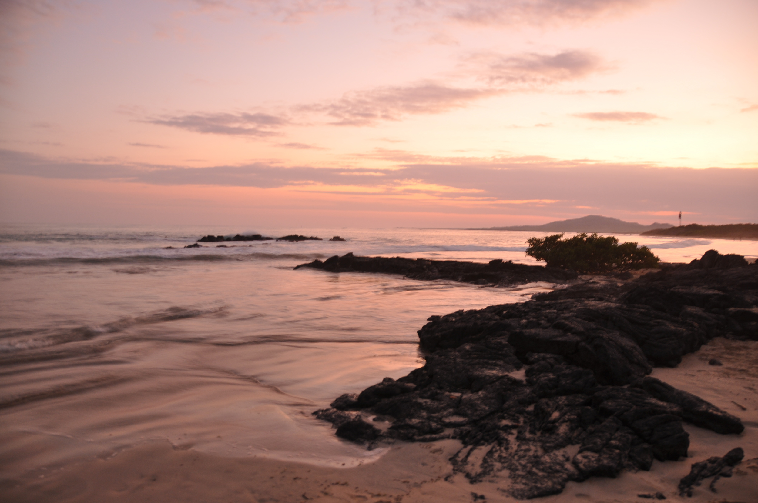 Galapagos Islands on a Budget Islabela Sunset