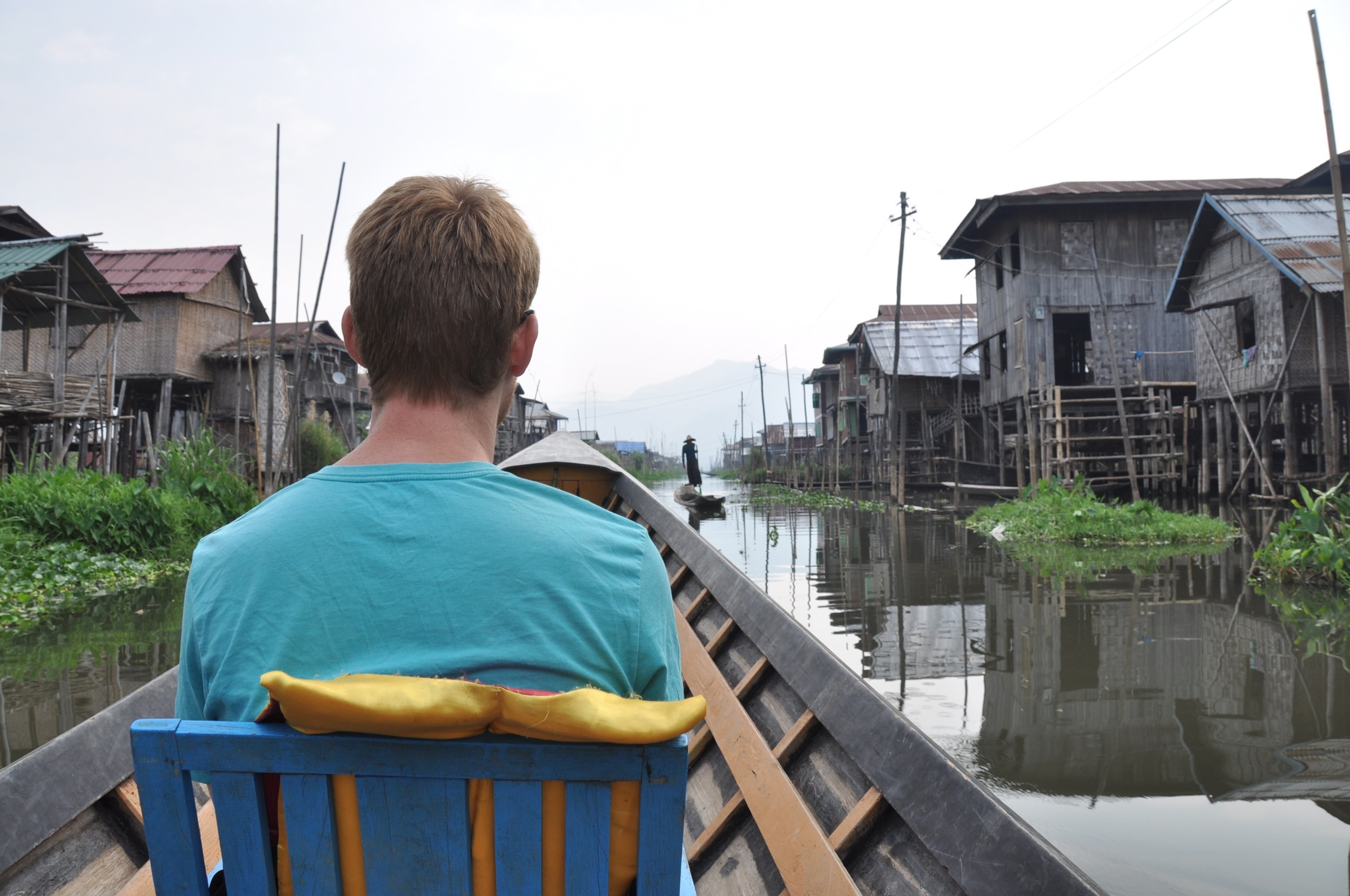 Myanmar Boat Ride Inle Lake